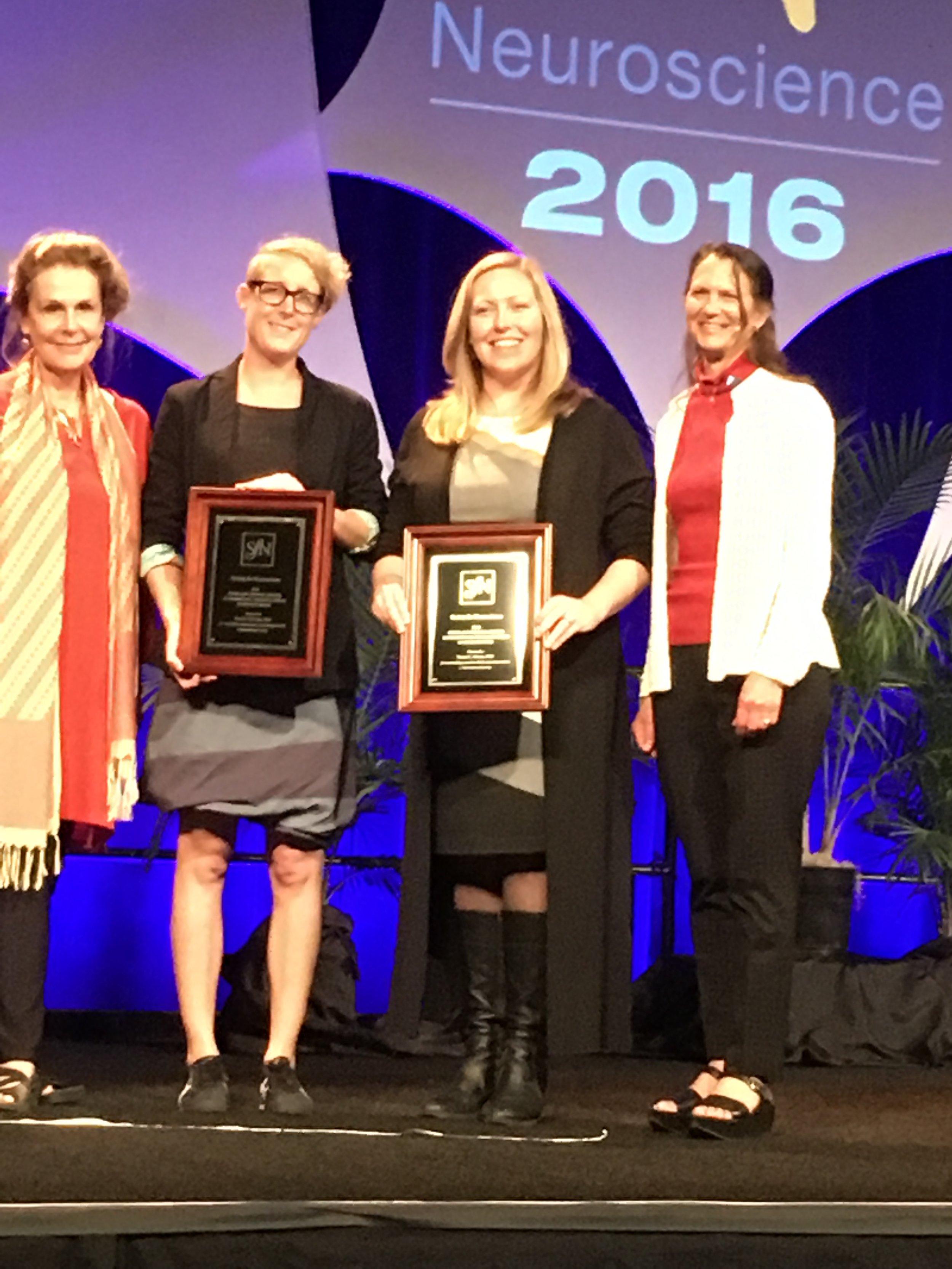 The Gruber Award at SFN.
