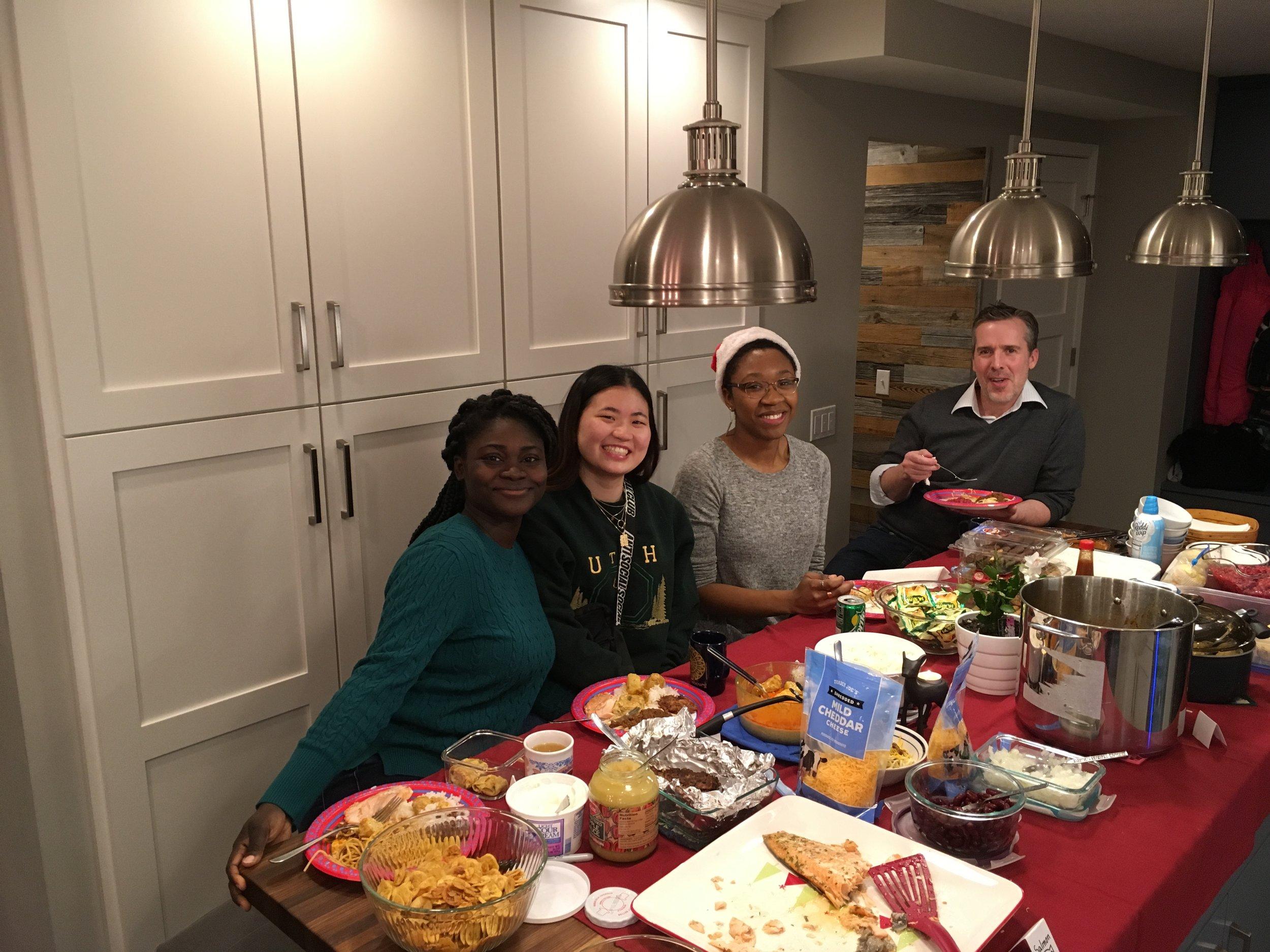 Holiday party potluck 2018!