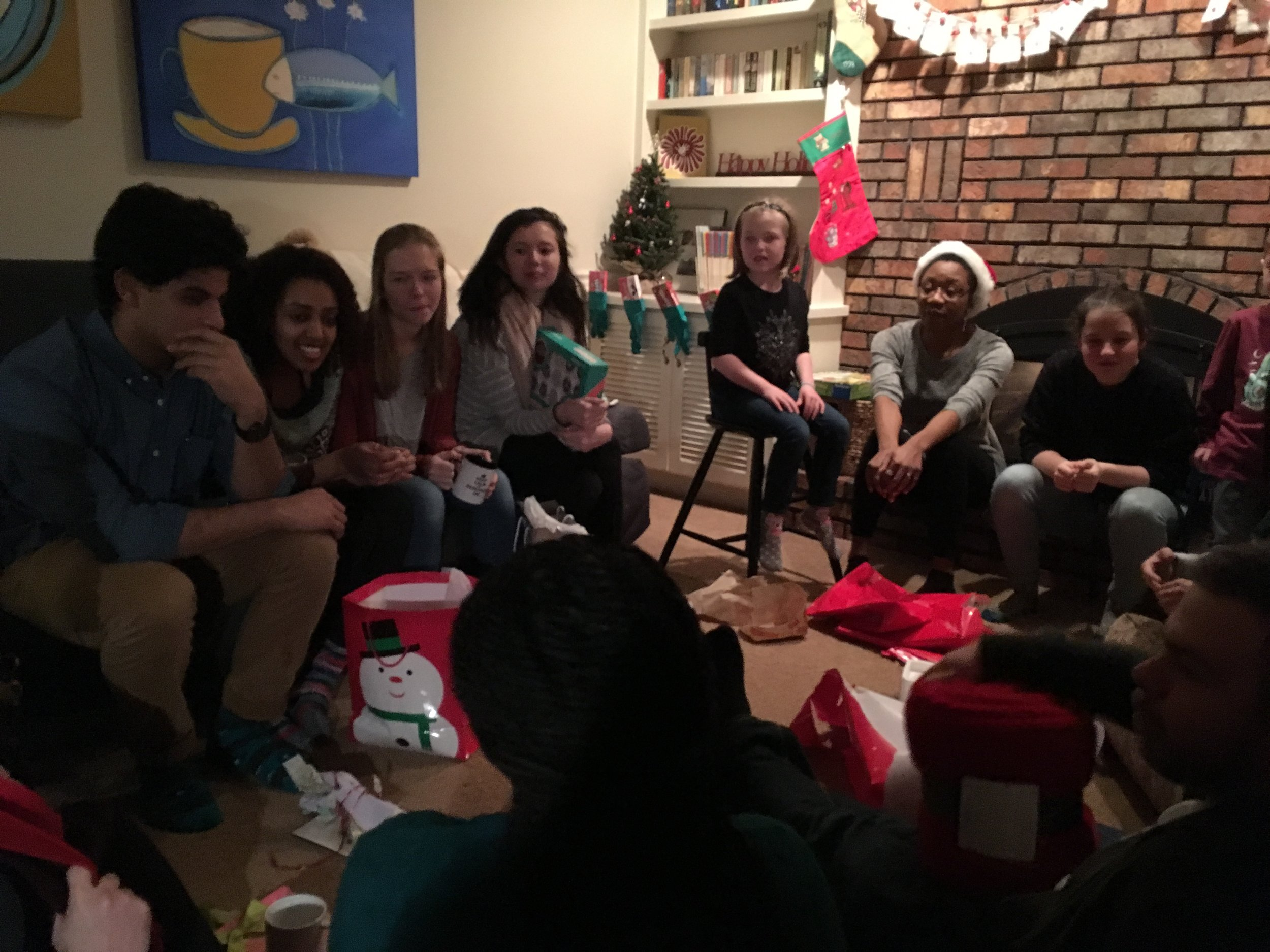 Stealing gift exchange 2018! The year of the mugs.