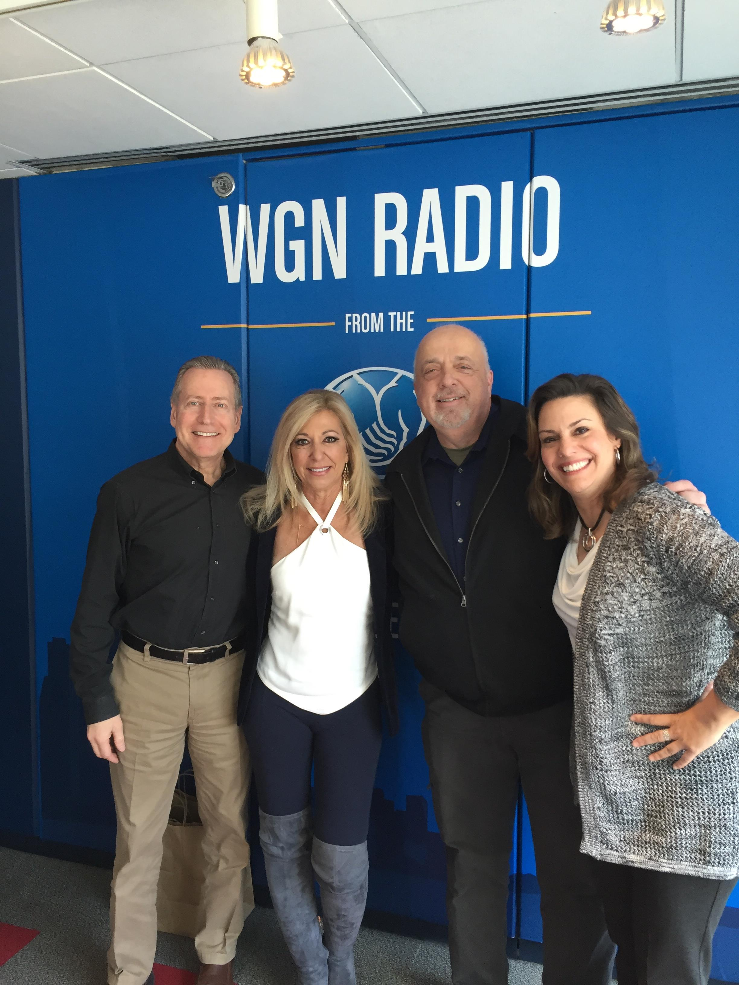 Judge DiMango on WGN Radio