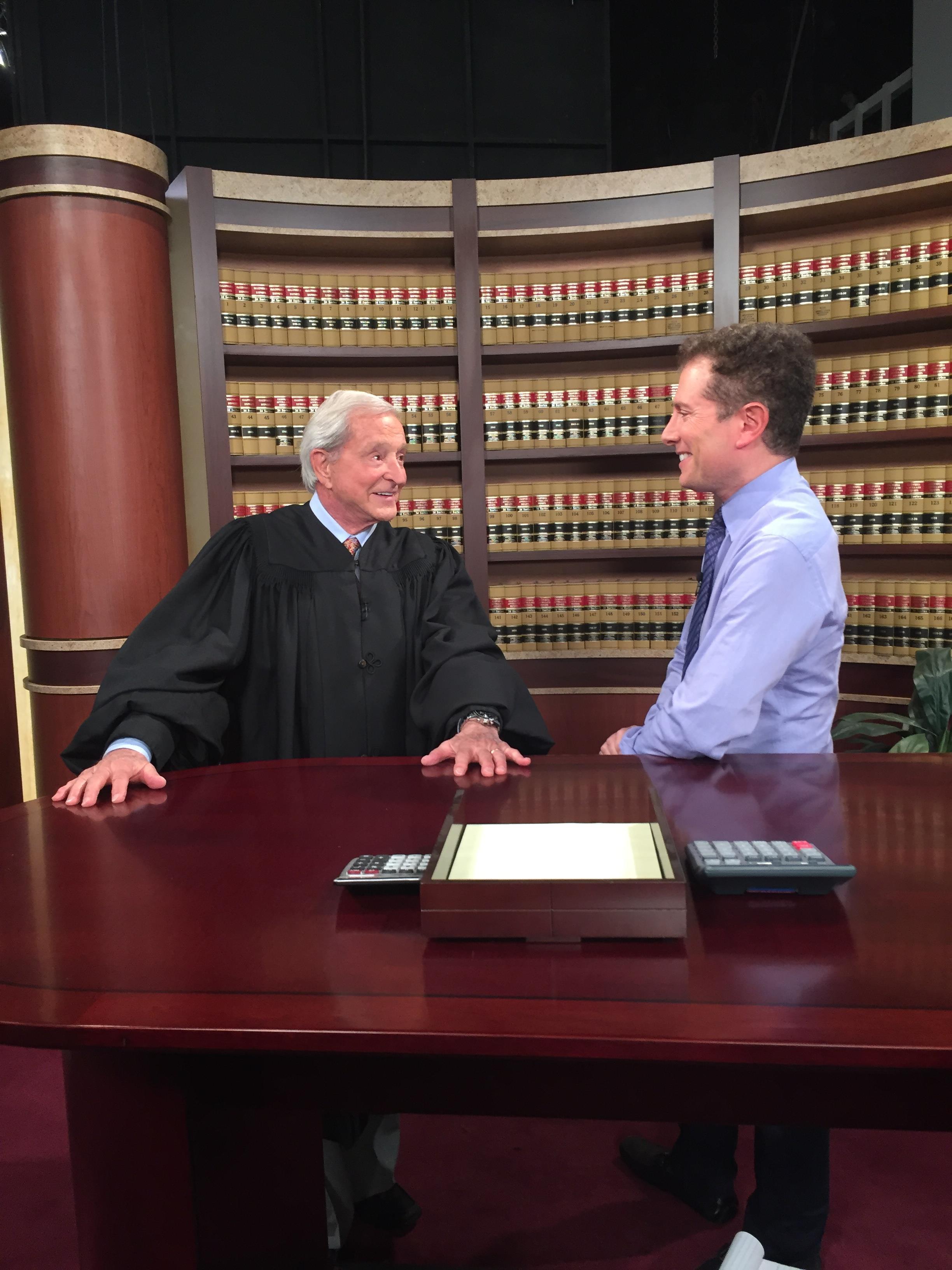 Interviewing Judge Jerry Sheindlin