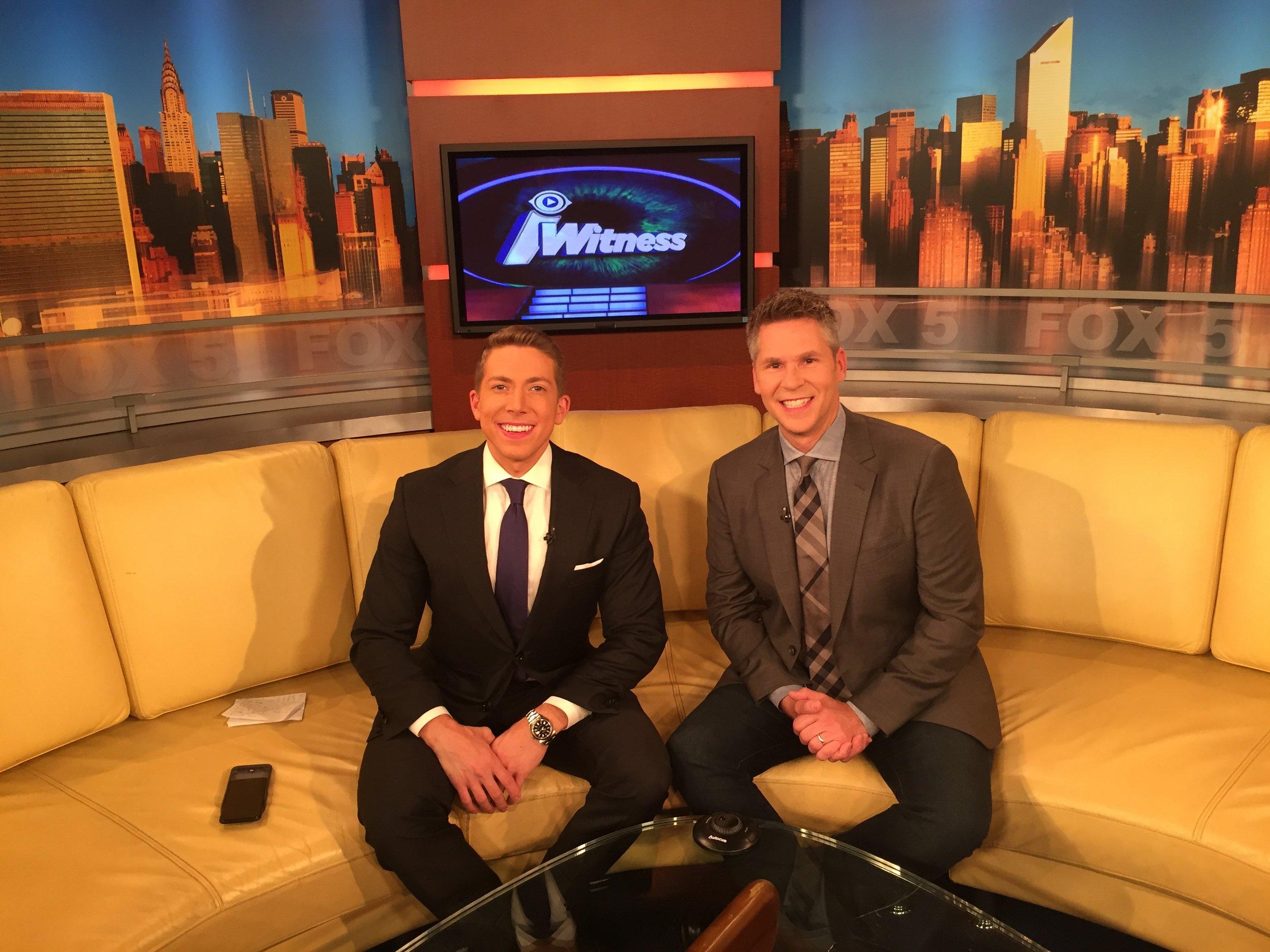 FOX's Baruch Shemtov and iWitness Host John Henson