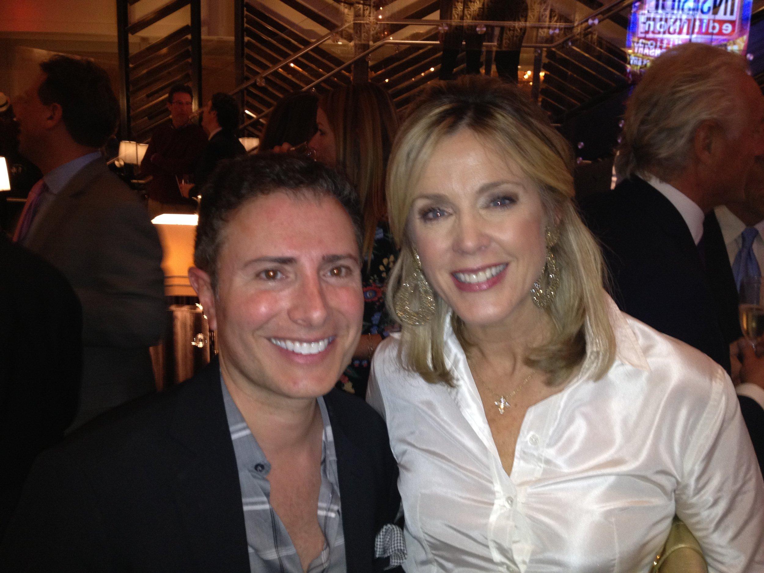 With Deborah Norville