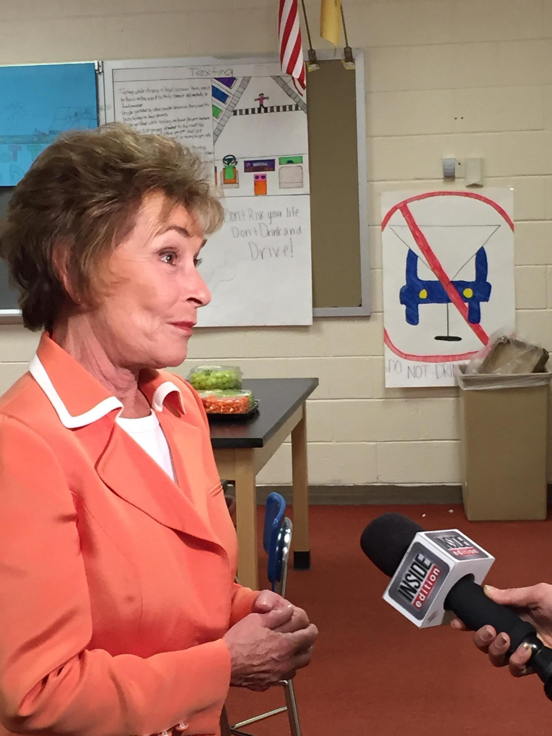 Judge Judy on Inside Edition