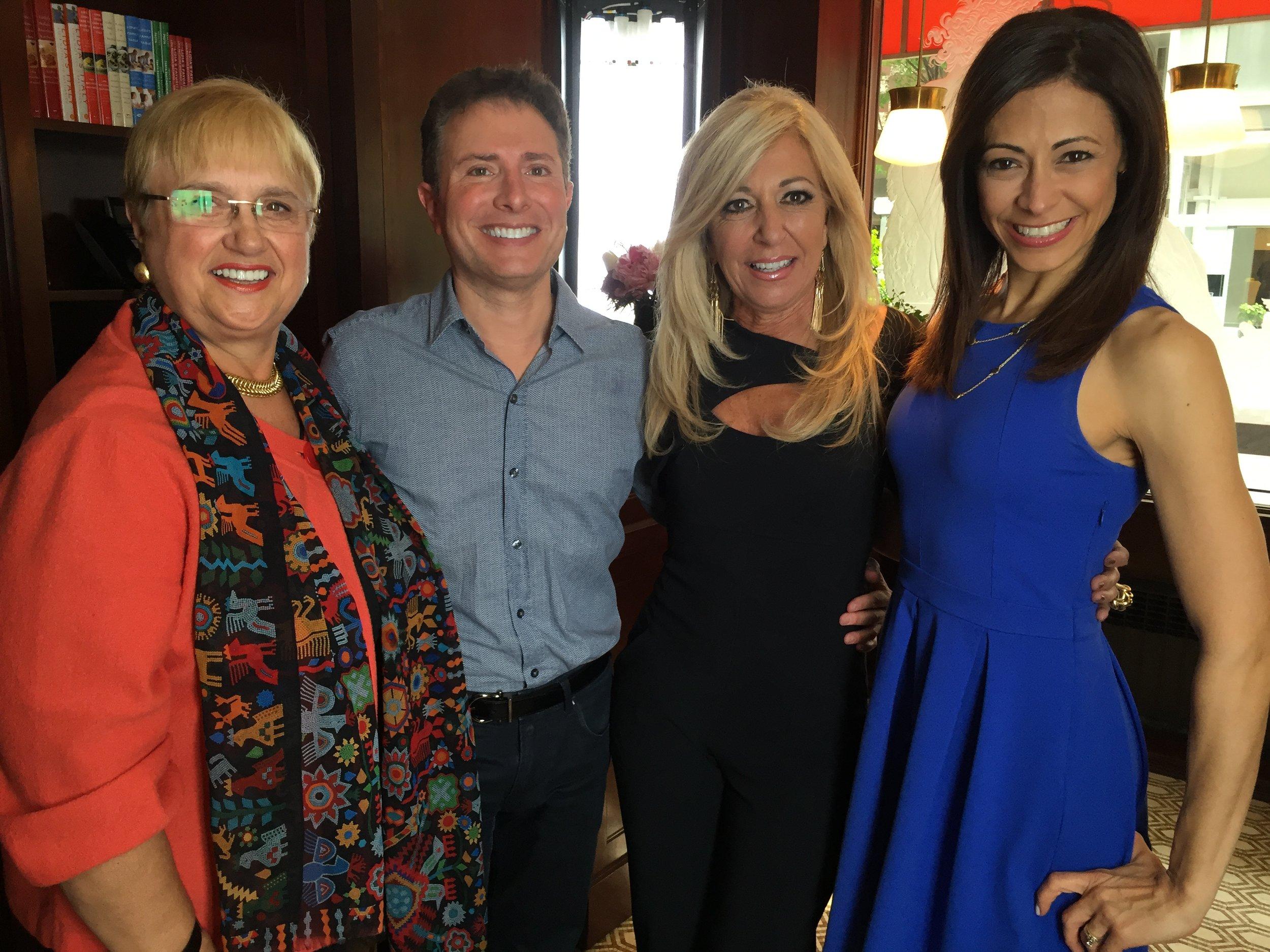 With Judge DiMango, Lidia Bastianich and Lisa Mateo