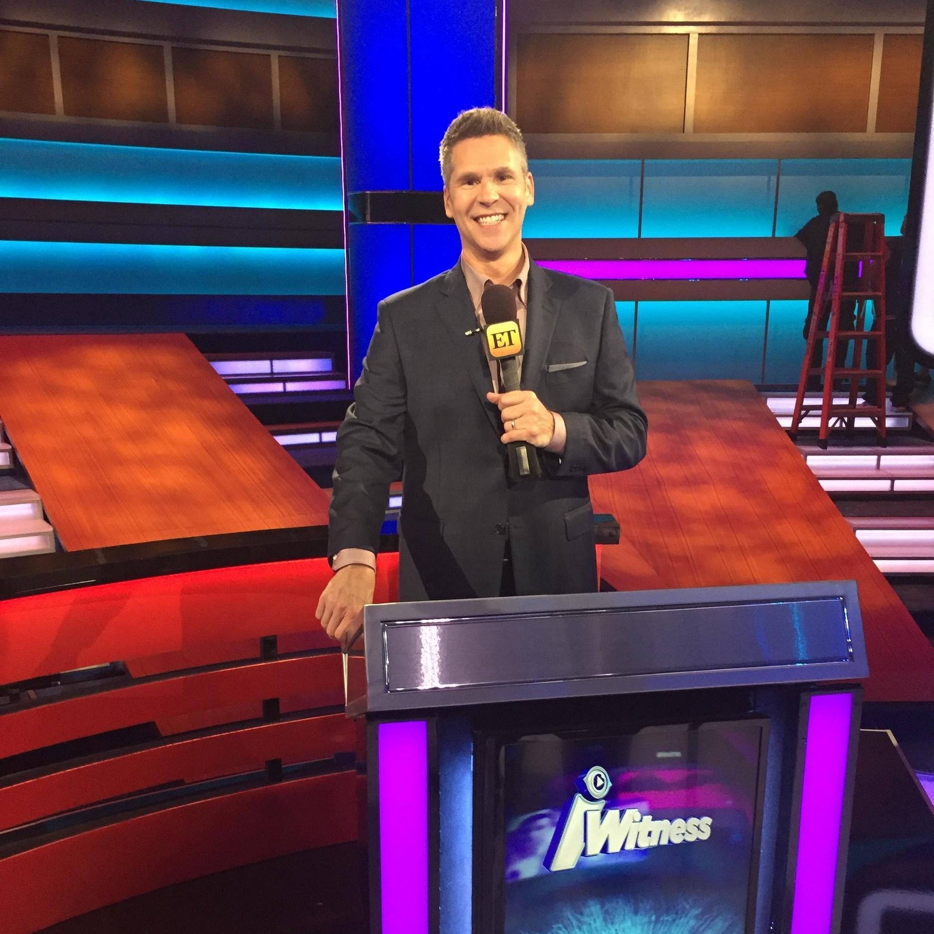 iWitness host John Henson on Entertainment Tonight