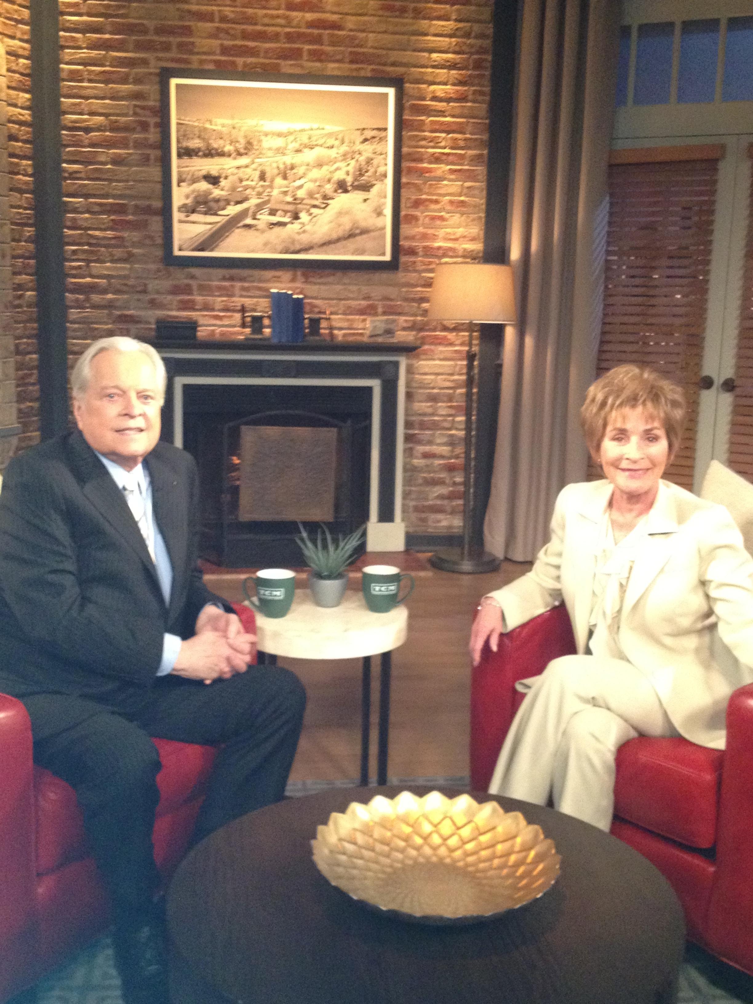 Judge Judy with Robert Osbourne