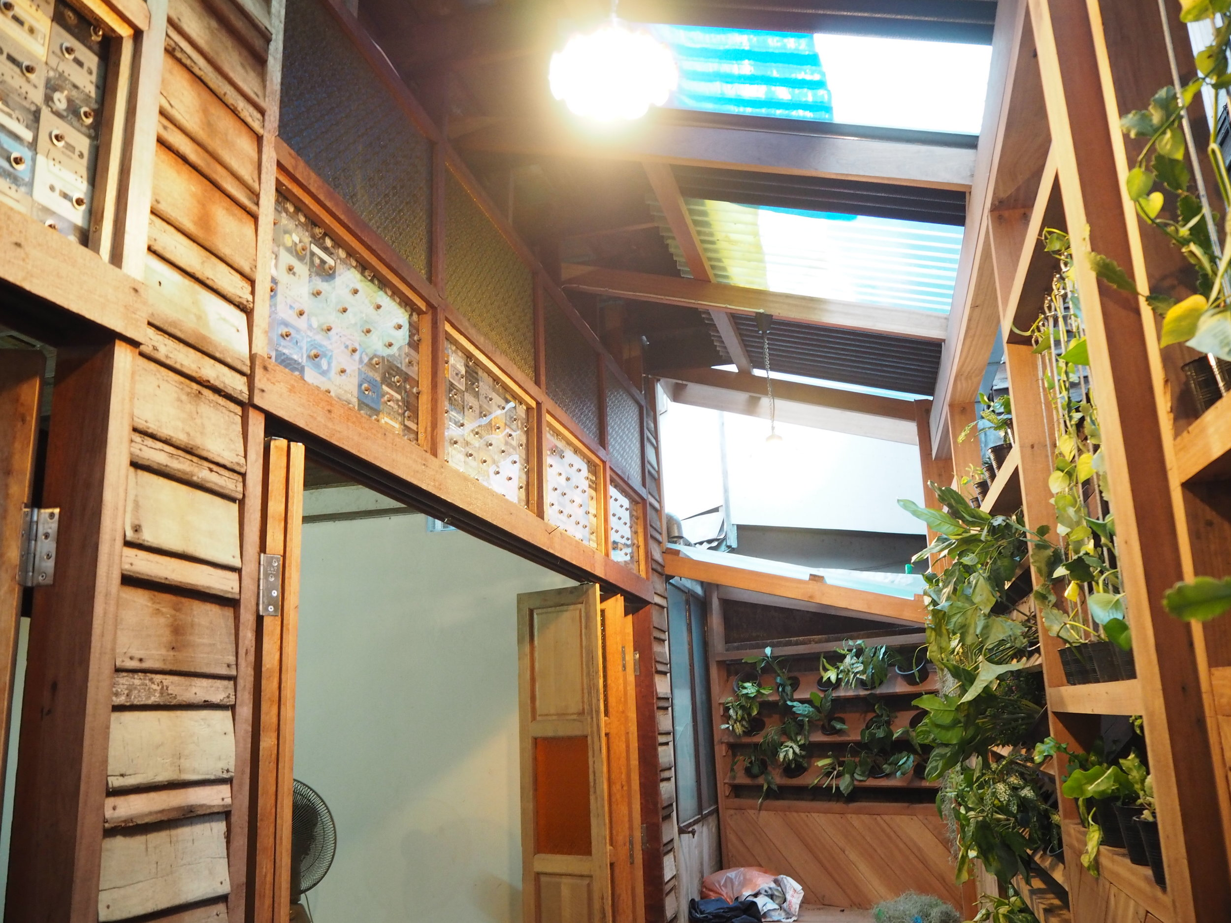 Dancing House: Urban garden in Nang Lerng, Bangkok