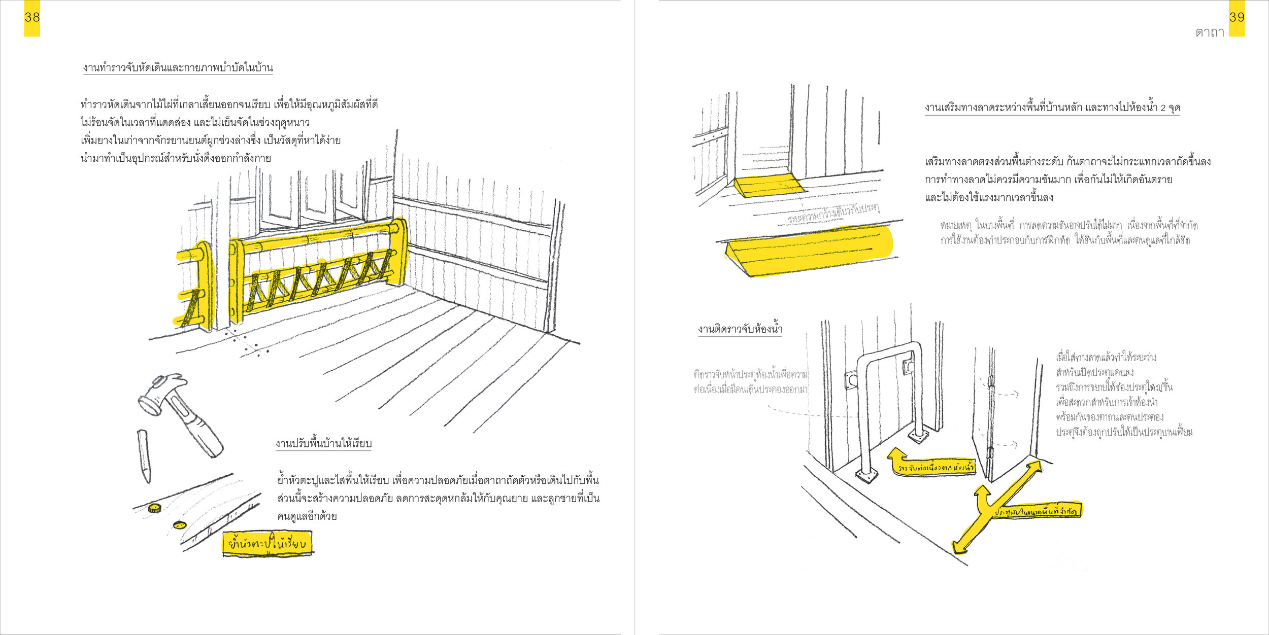Differently-Abled Architecture DAA:  Barrier-free architecture for all ages and abilities