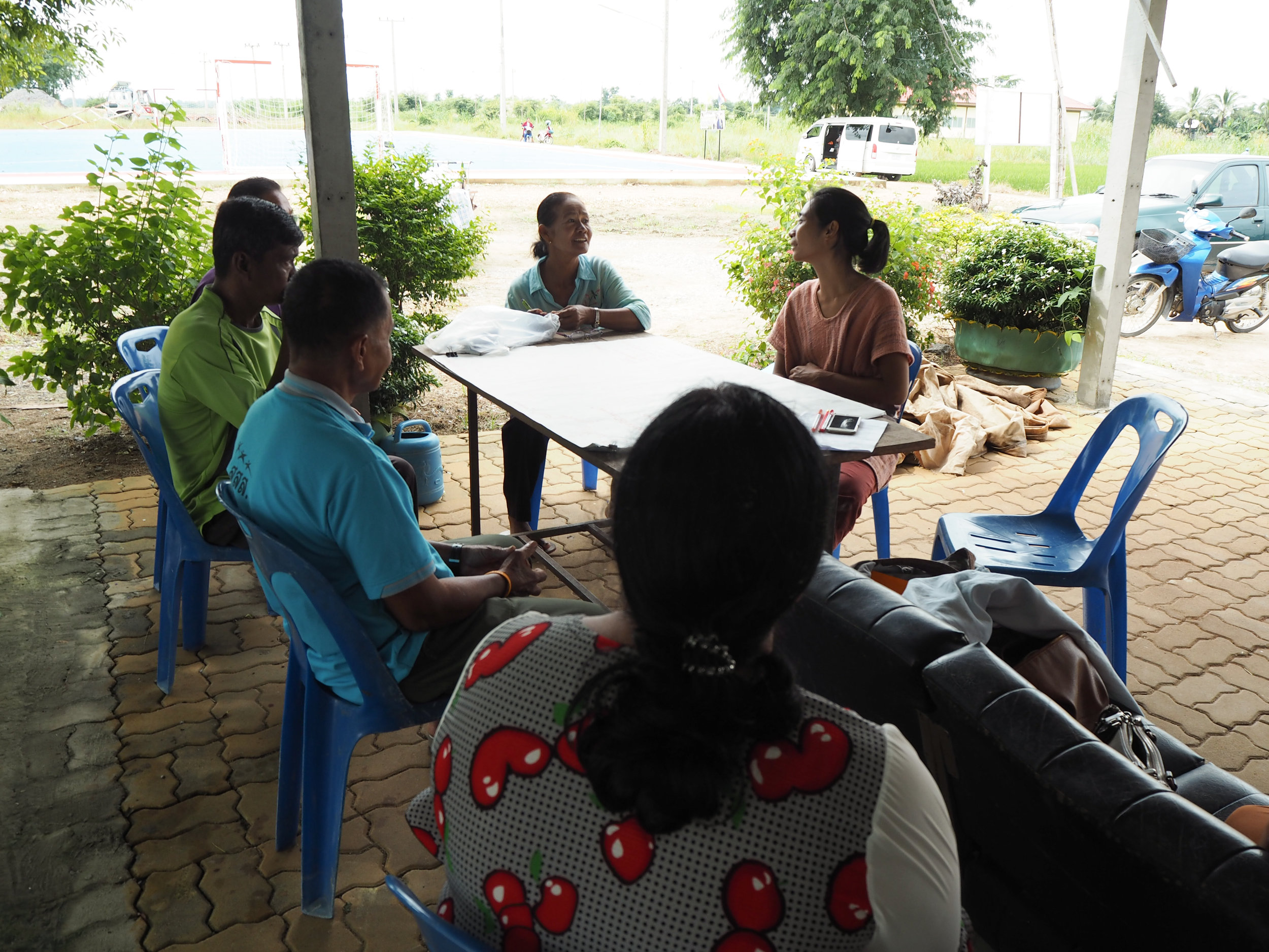 Leave No One Behind: Community-driven urban development in Thailand - Community meeting