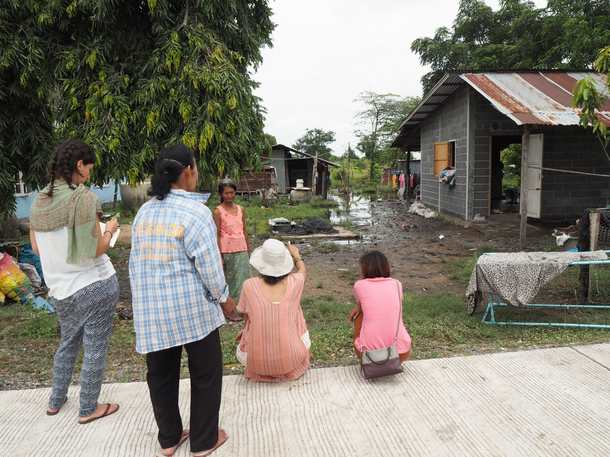 Leave No One Behind: Community-driven urban development in Thailand - Visiting elderly people and people with disabilities
