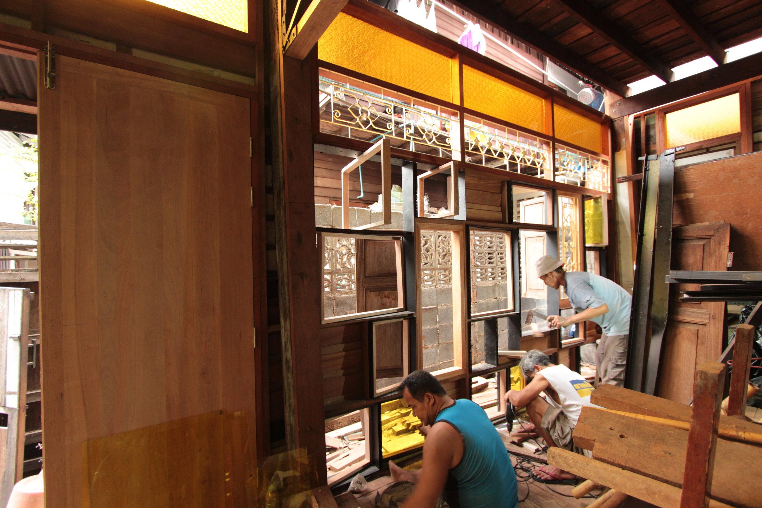 Renovating a community centre