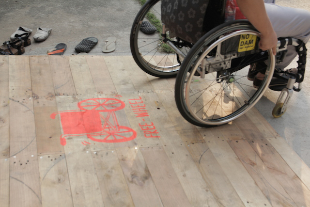 Universal design: designing for people with disabilities in Thailand