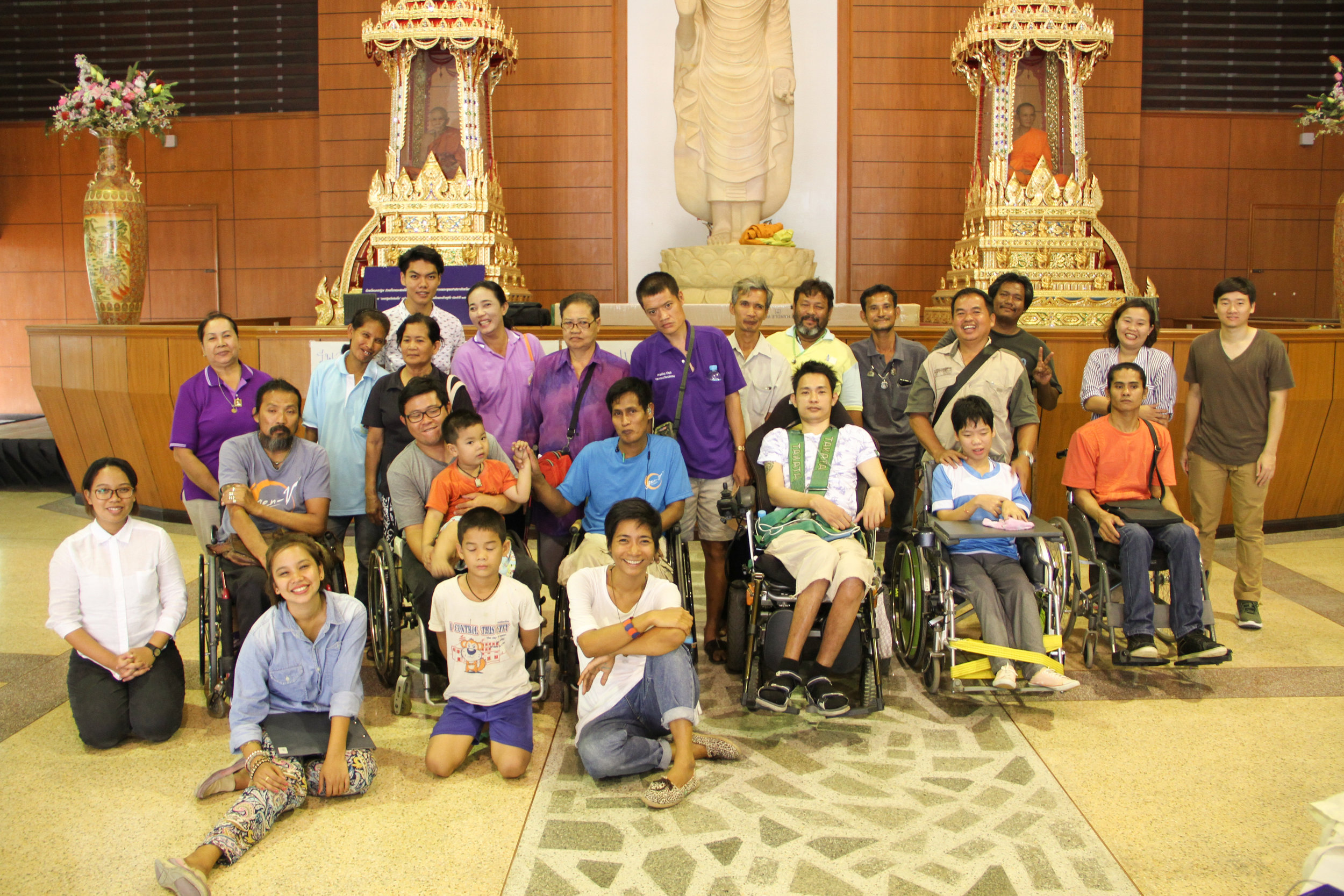 Designing community spaces in Chiang Rai and Nakornpathom in Thailand using Universal Design and community participation