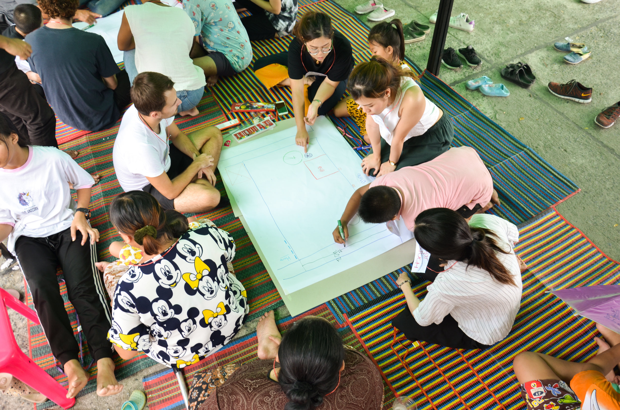 Physical Activity Workshop with KU University in Bangkok: student and children participation