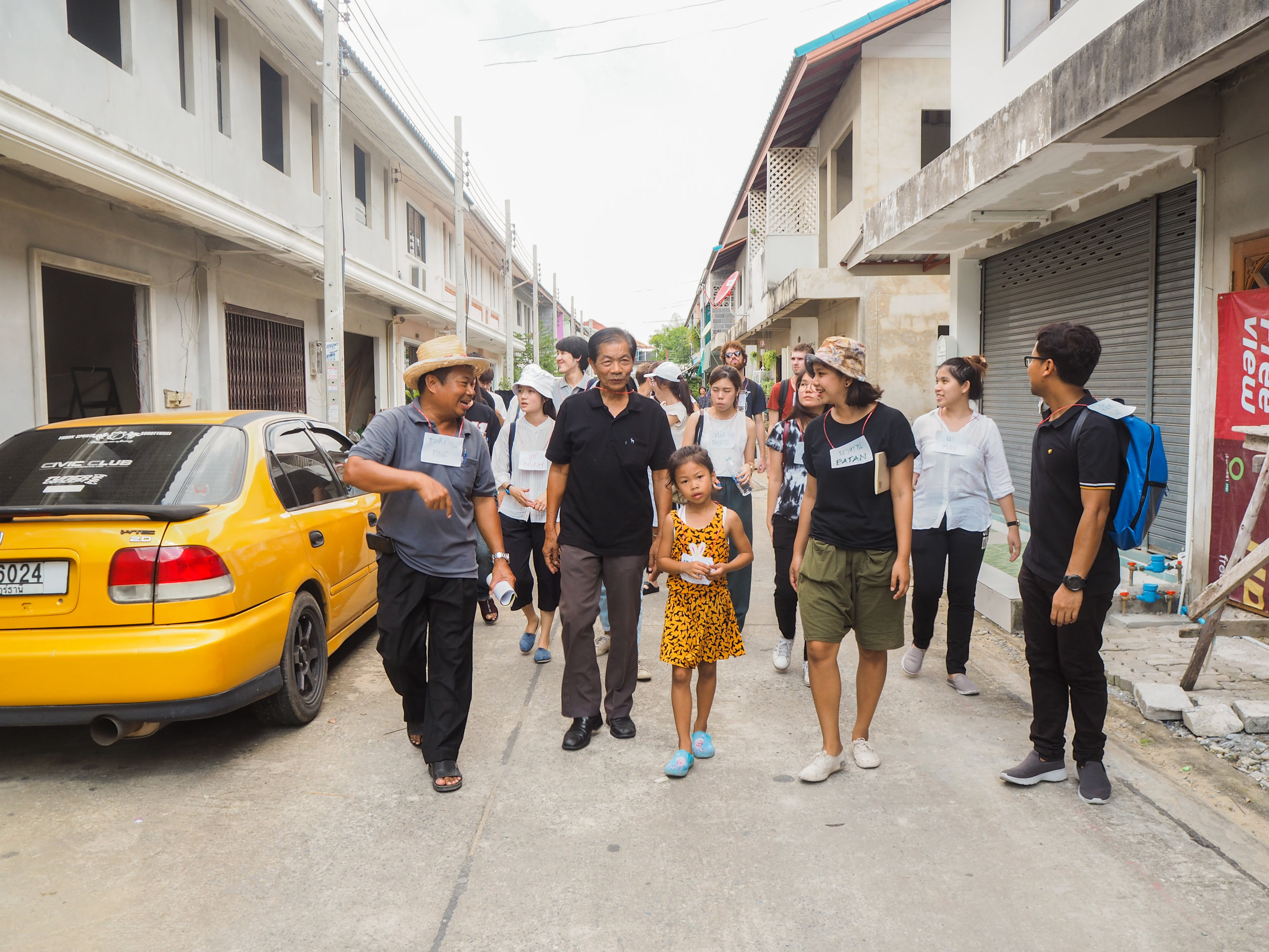 Physical Activity Workshop with KU University in Bangkok: community participation