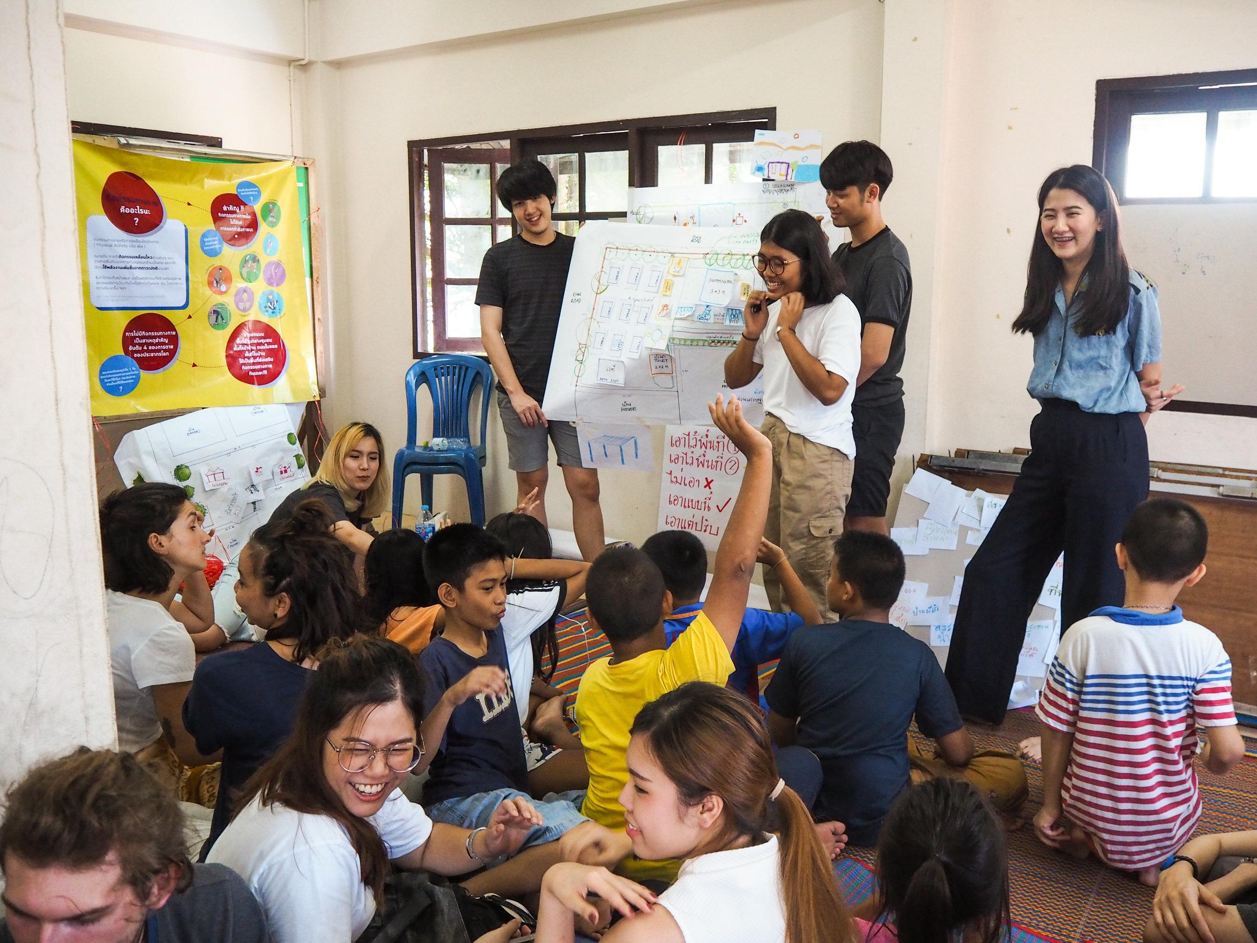 Physical Activity Workshop with KU University in Bangkok: participatory design