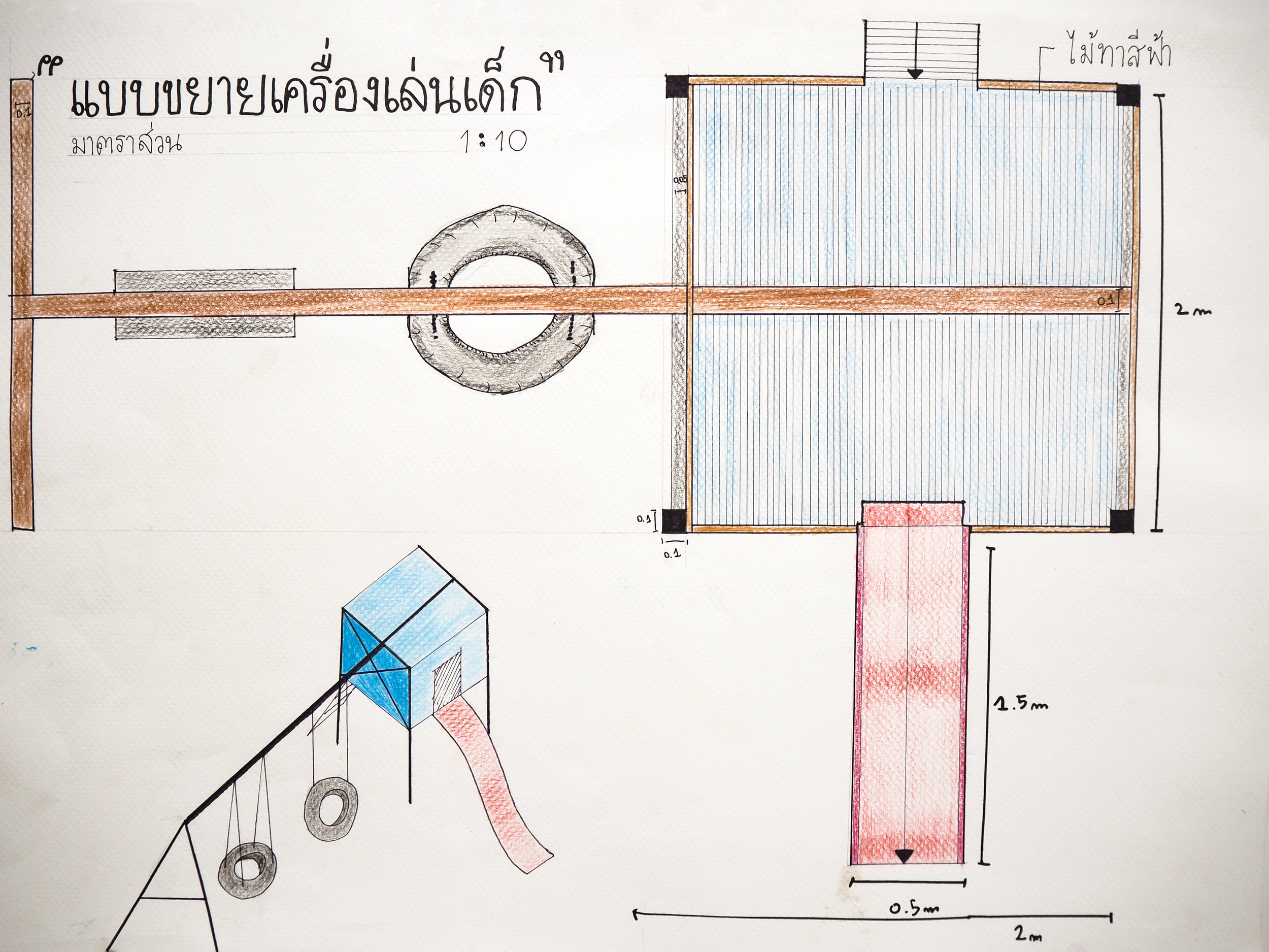 Physical Activity Workshop with KU University in Bangkok: participatory design using universal design concepts