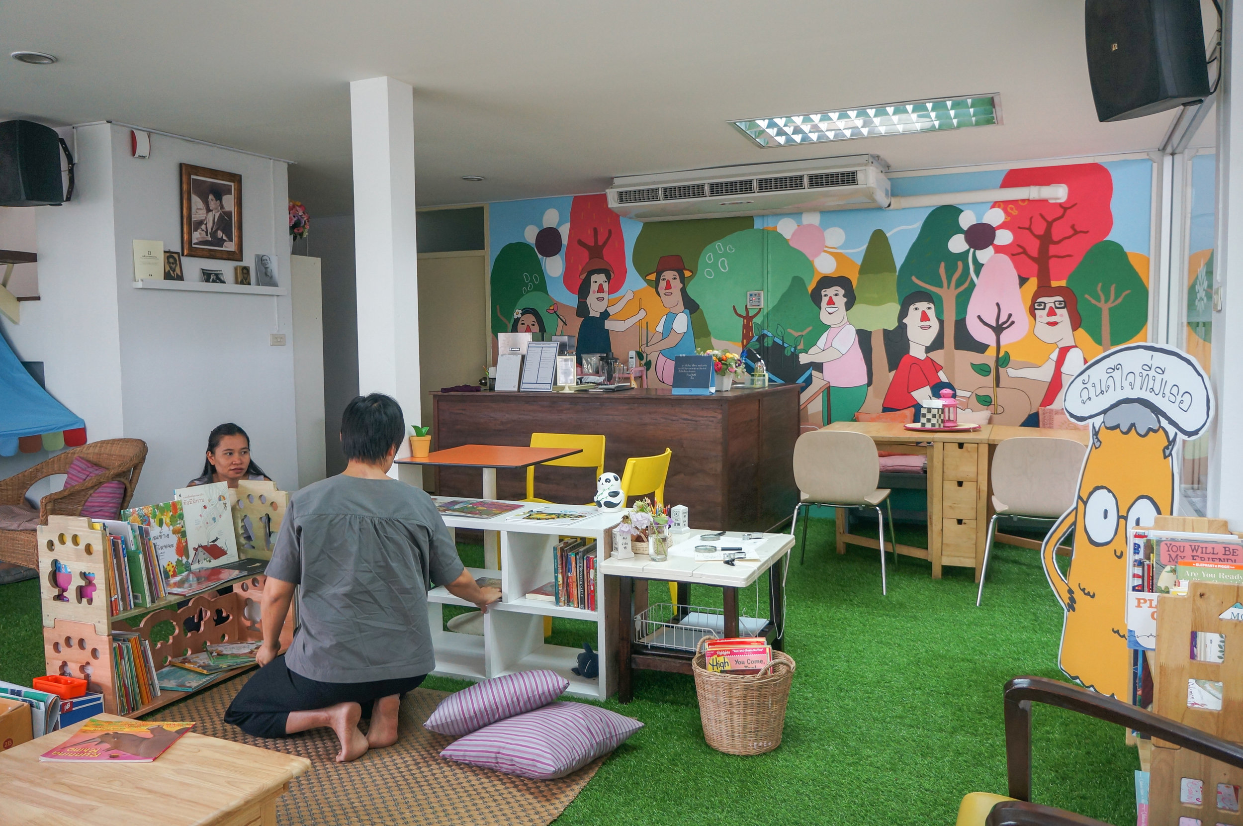 Blue Door Creative Space: Renovation in Bangkok