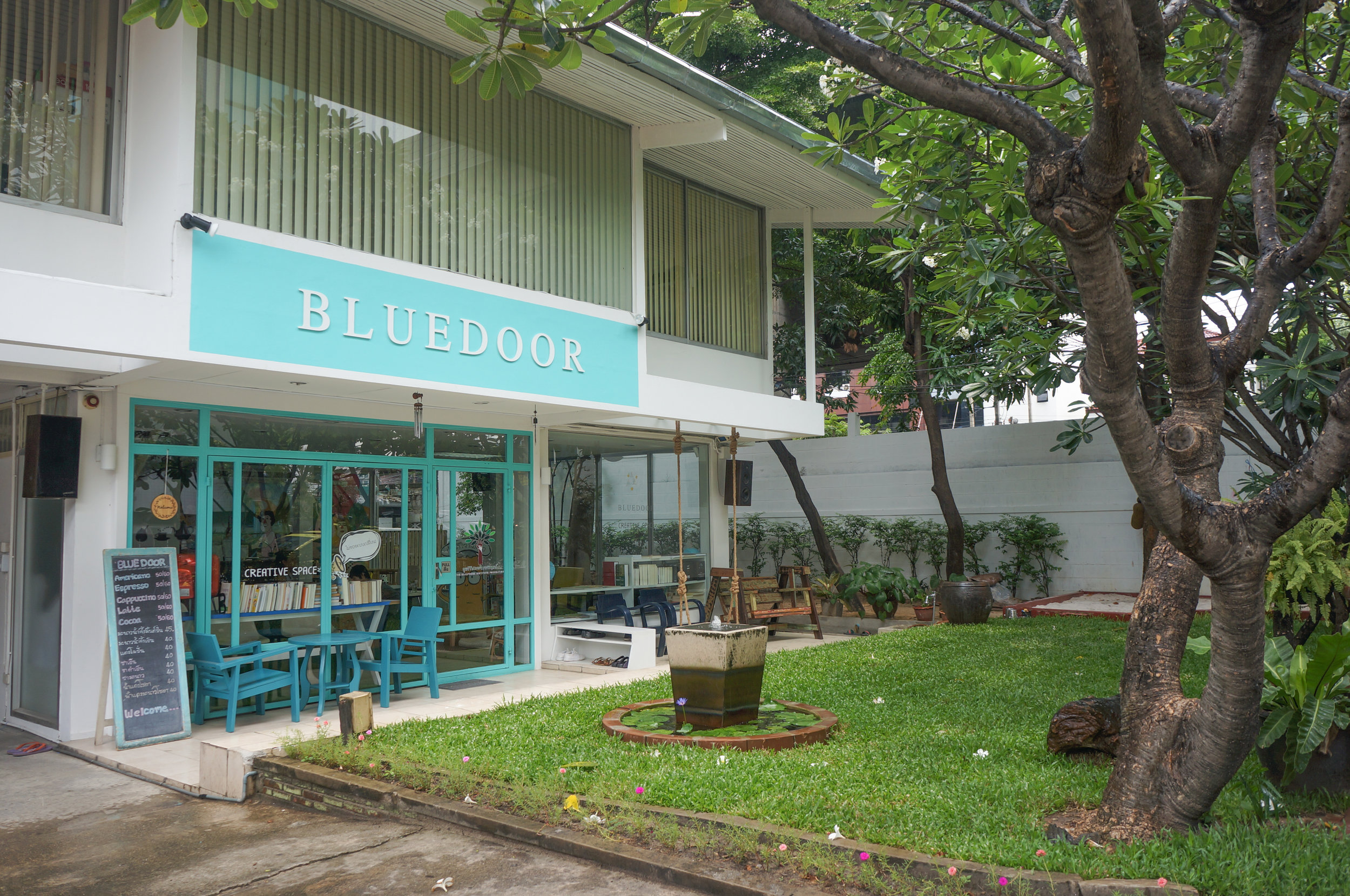 Blue Door Creative Space: Outdoor space for kids