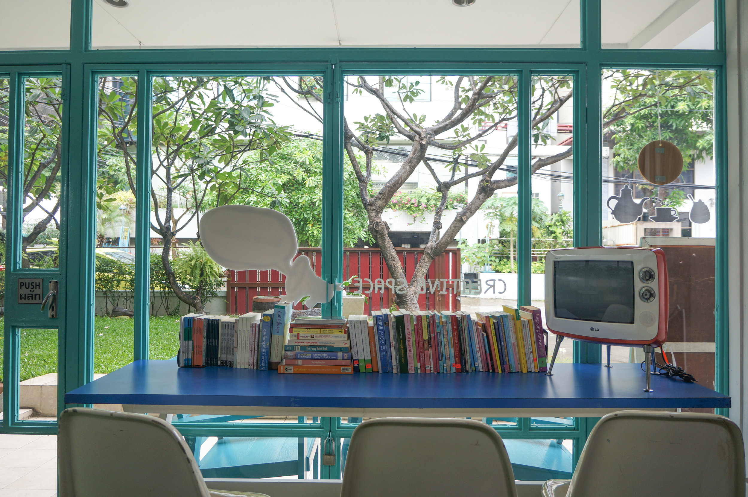 Blue Door Creative Space: The kids library