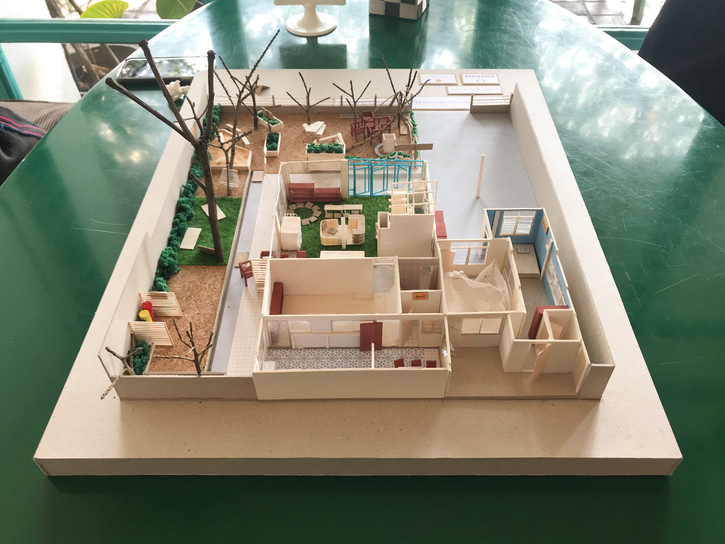 Bluedoor Creative Space: Architectural model