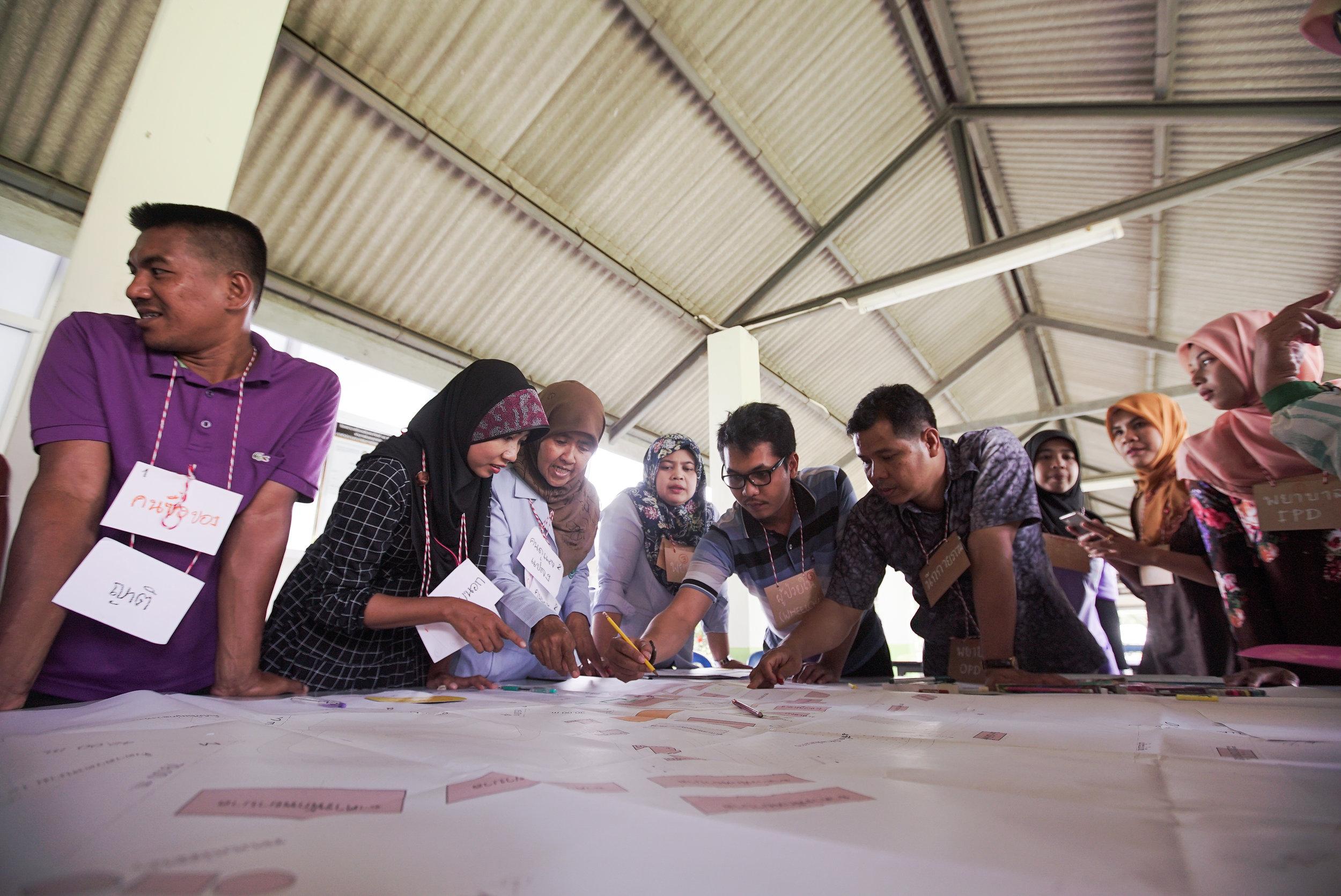 King's Hospitals project: Renovating Yi-ngo community hospital in Naratiwat using Universal Design