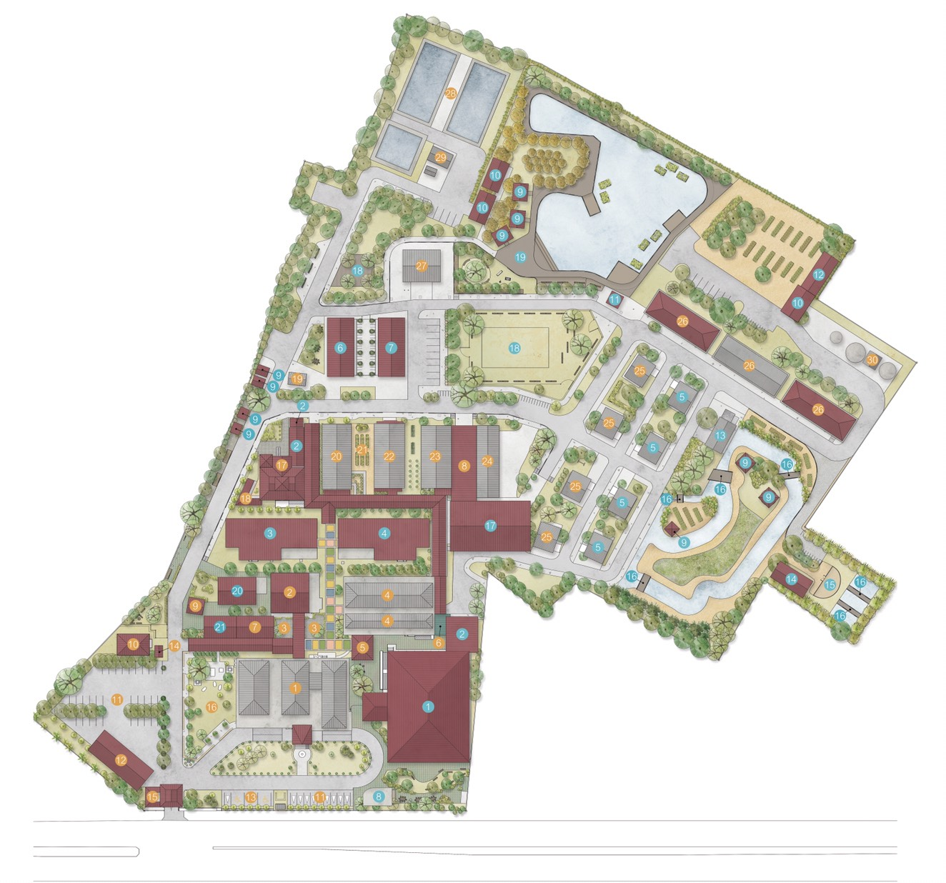 King's Hospitals project: The Masterplan for the renovation of Yi-ngo community hospital in Thailand