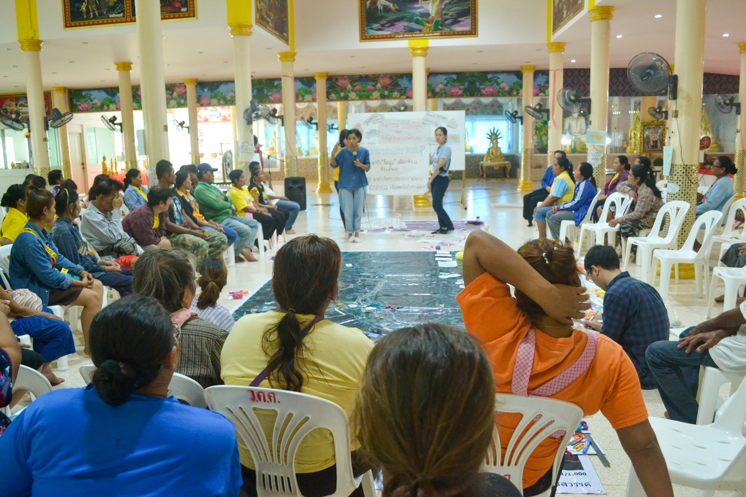 CODI at Bueng Se Nat: two-day city mapping meeting with six villages in Nakhon Sawan, Thailand