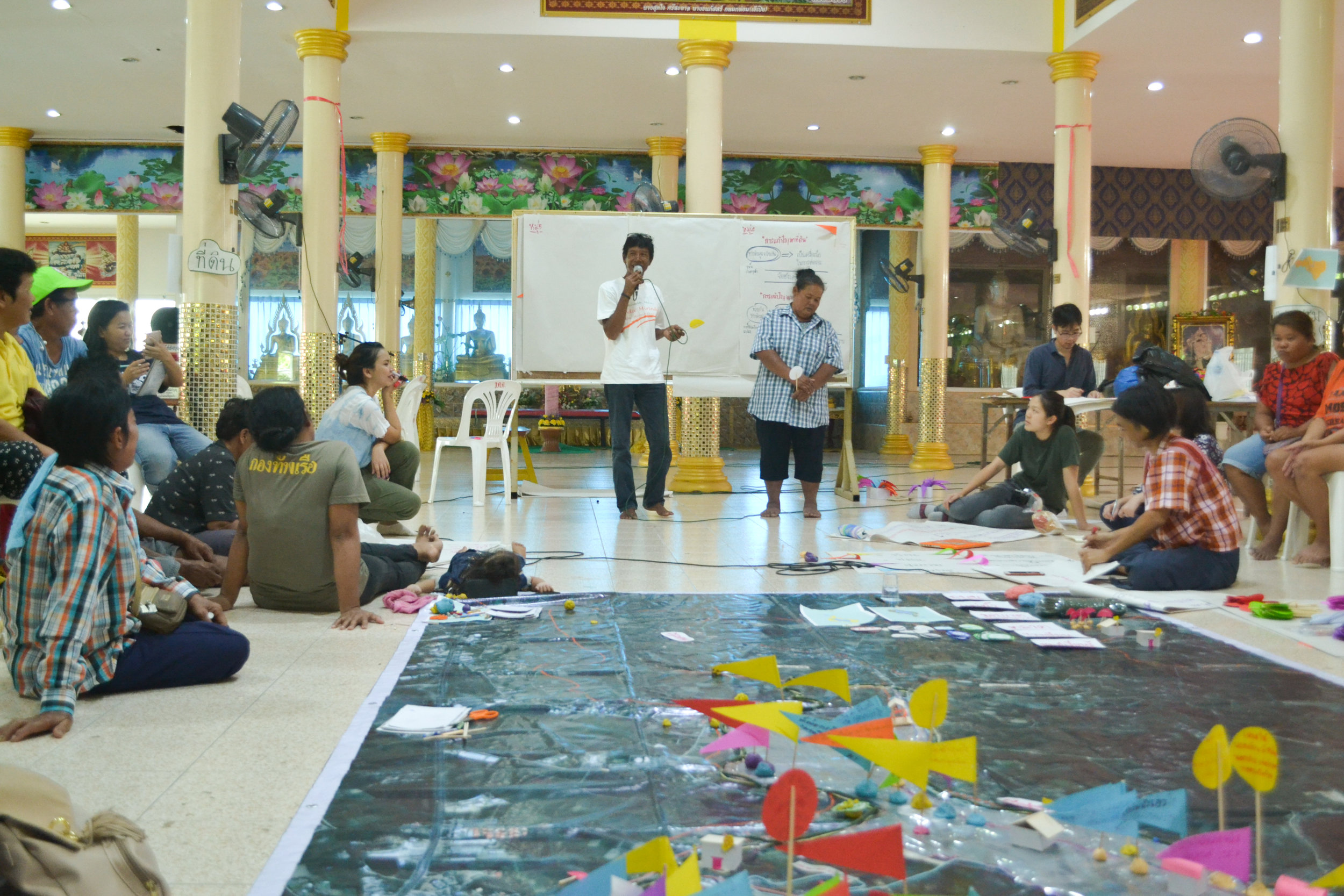 CODI at Bueng Se Nat: mapping the city's resources, problems, and opportunities in Nakhon Sawan, Thailand
