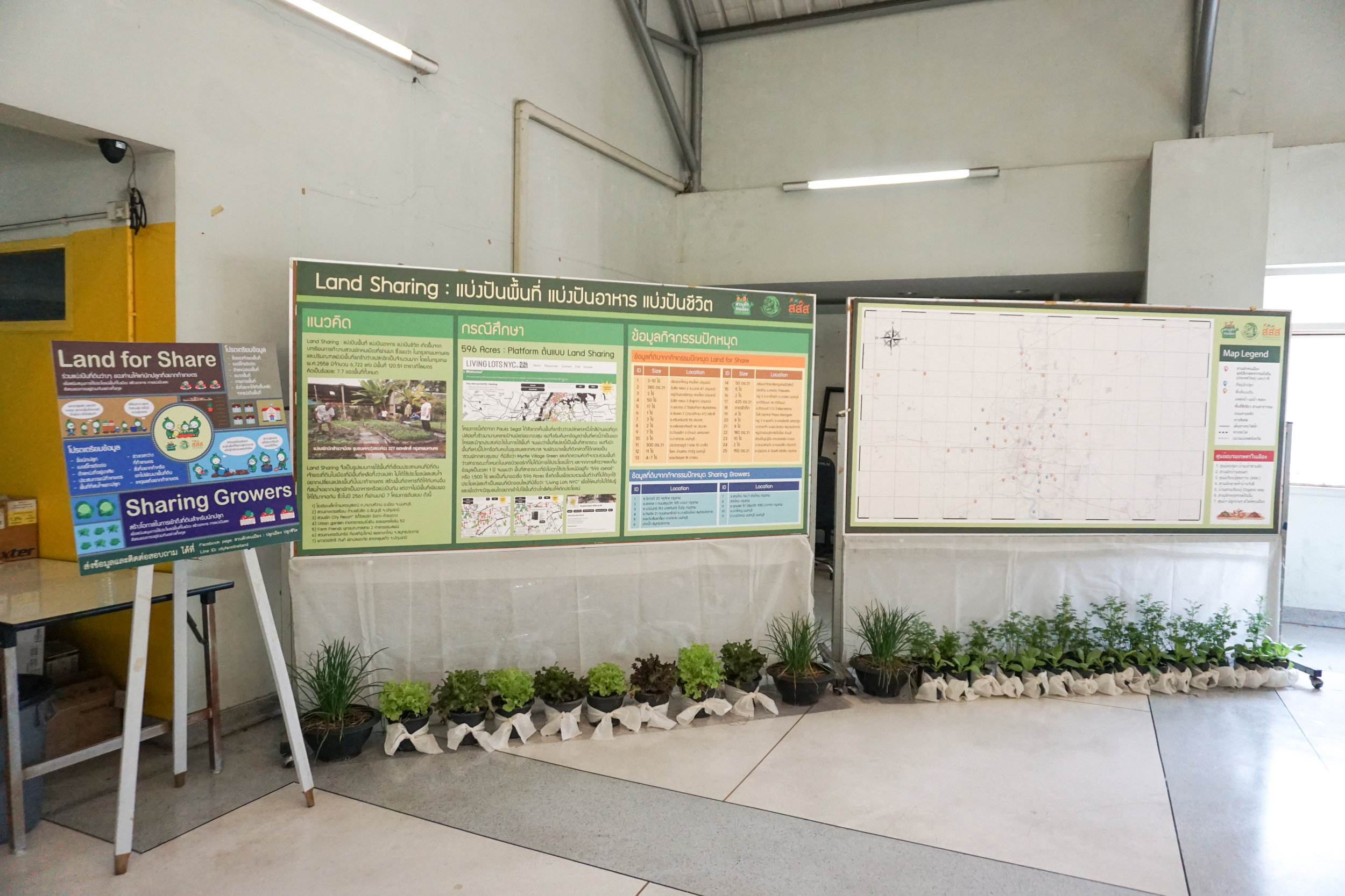 City Farming for a Sustainable City Event: Urban farming projects and nodes in Thailand
