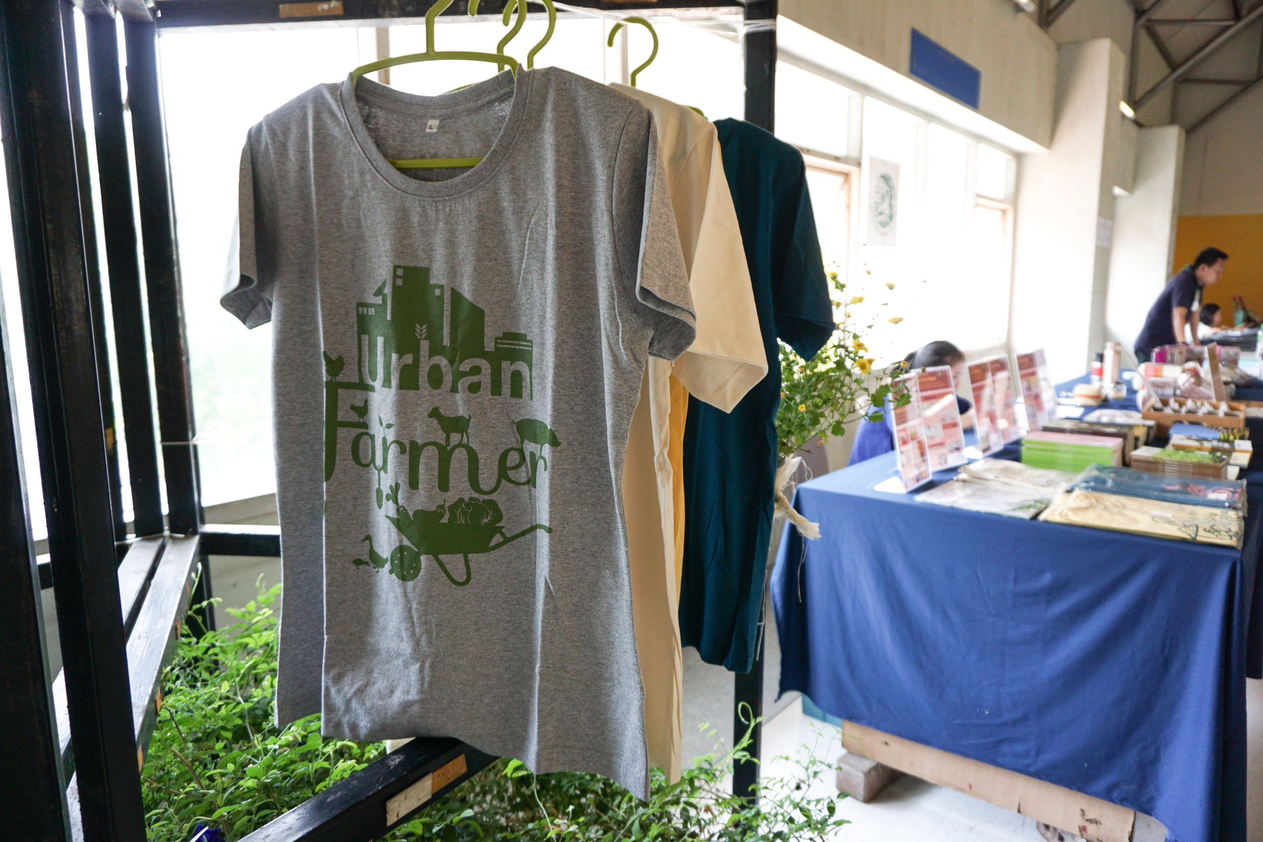 City Farming for a Sustainable City Event: Goods for sale