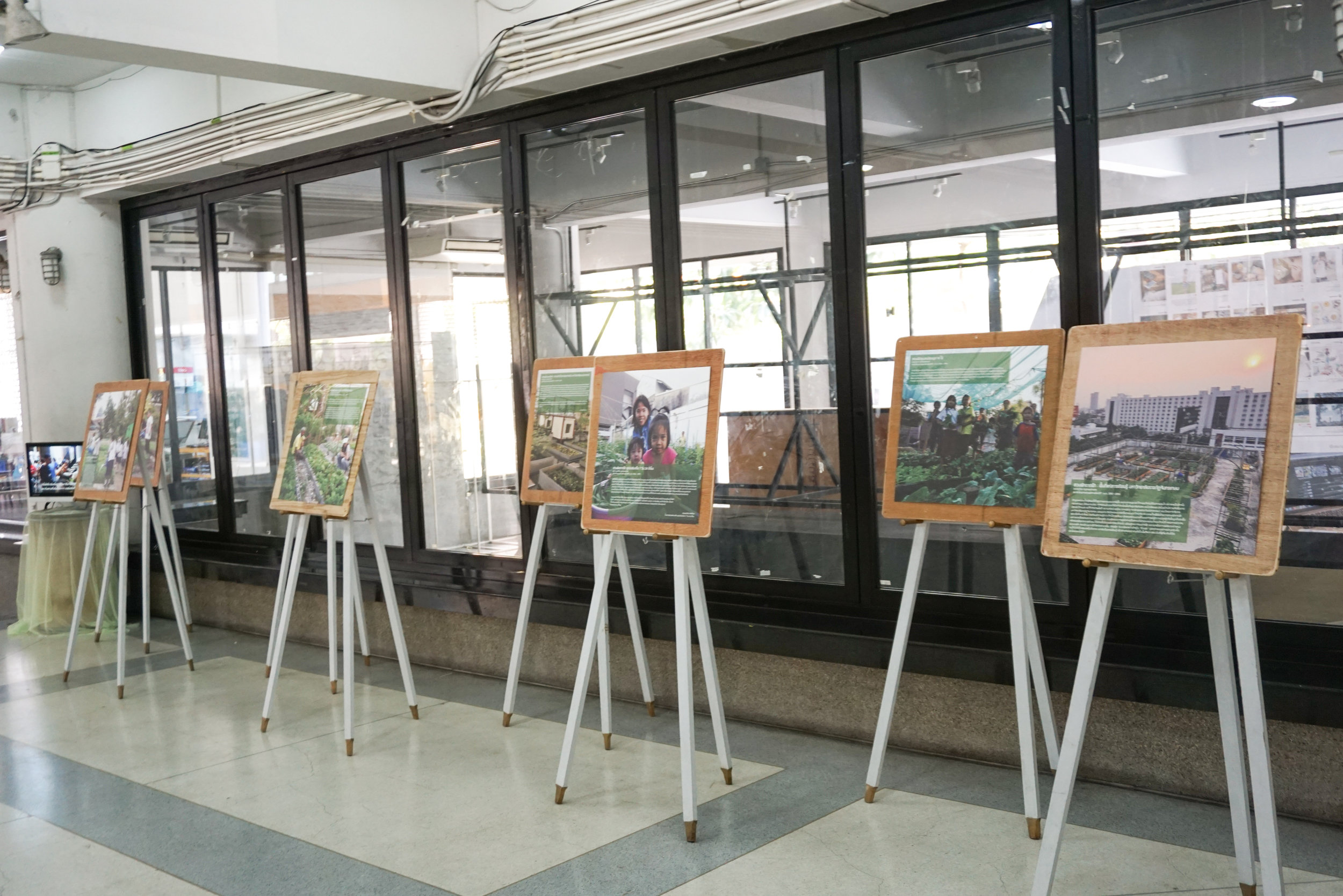 City Farming for a Sustainable City Event: Photo exhibition of urban farming projects around the world
