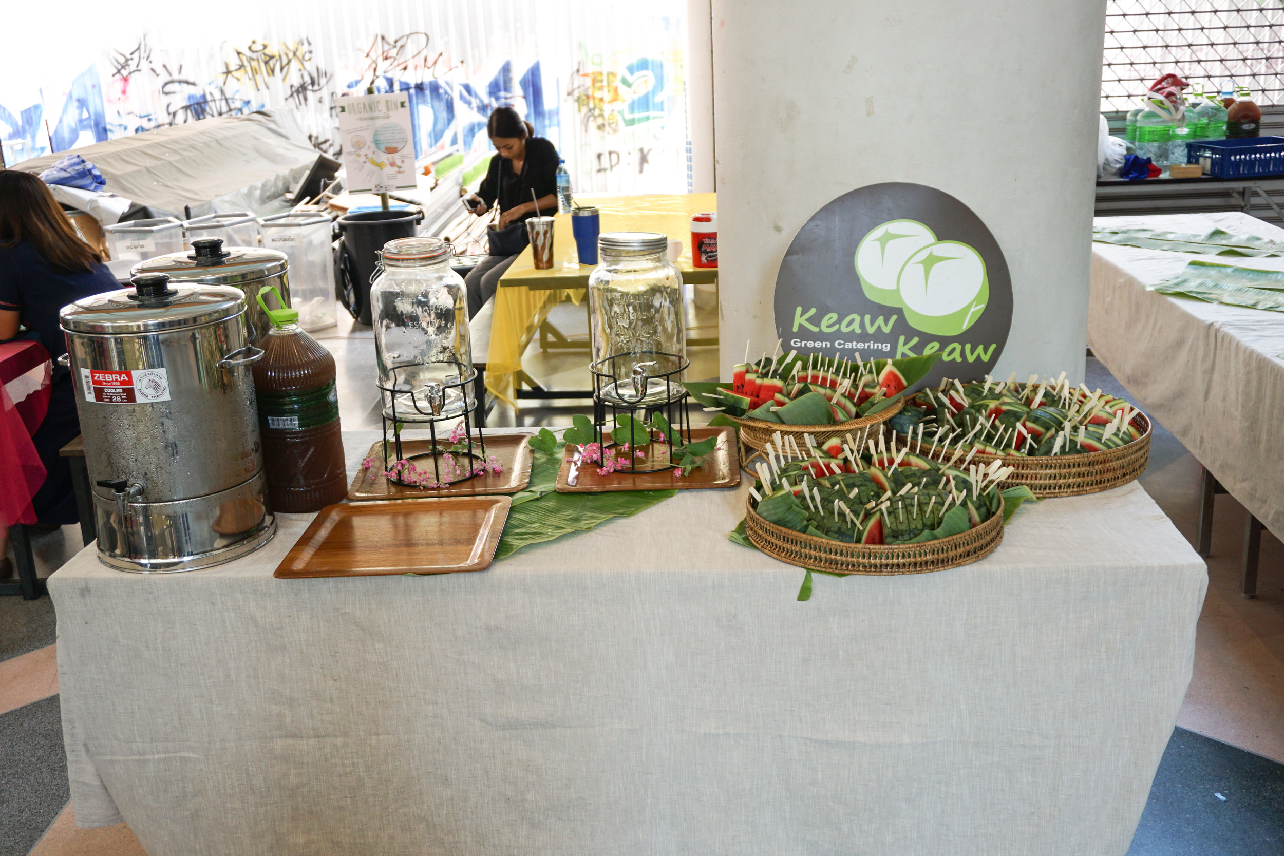 City Farming for a Sustainable City Event: Lunch catering