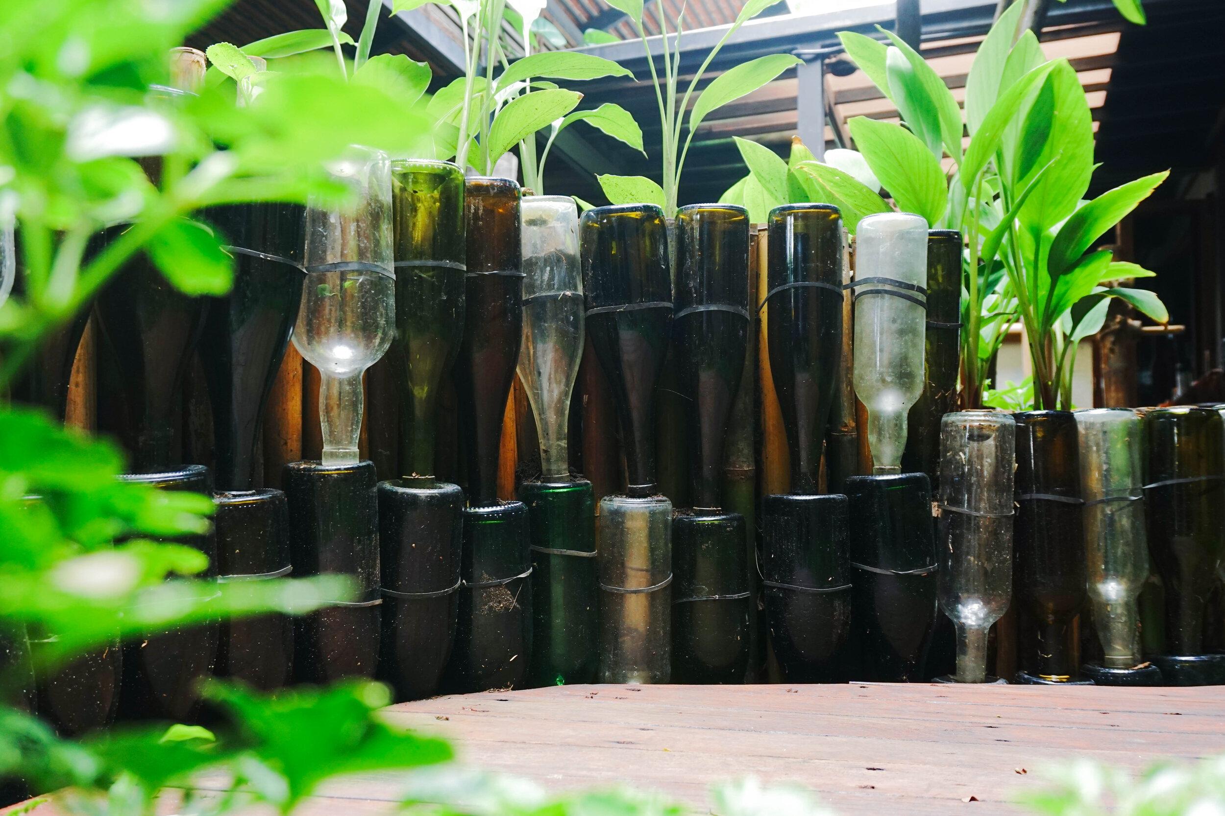 Bo.lan Edible Garden: Keyhole Garden in ZONE C - The Fragrant Herb Garden