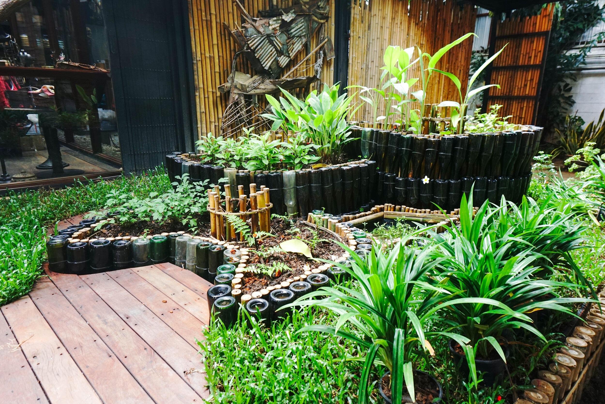 Openspace: Keyhole garden using permaculture at Bo.lan in Bangkok