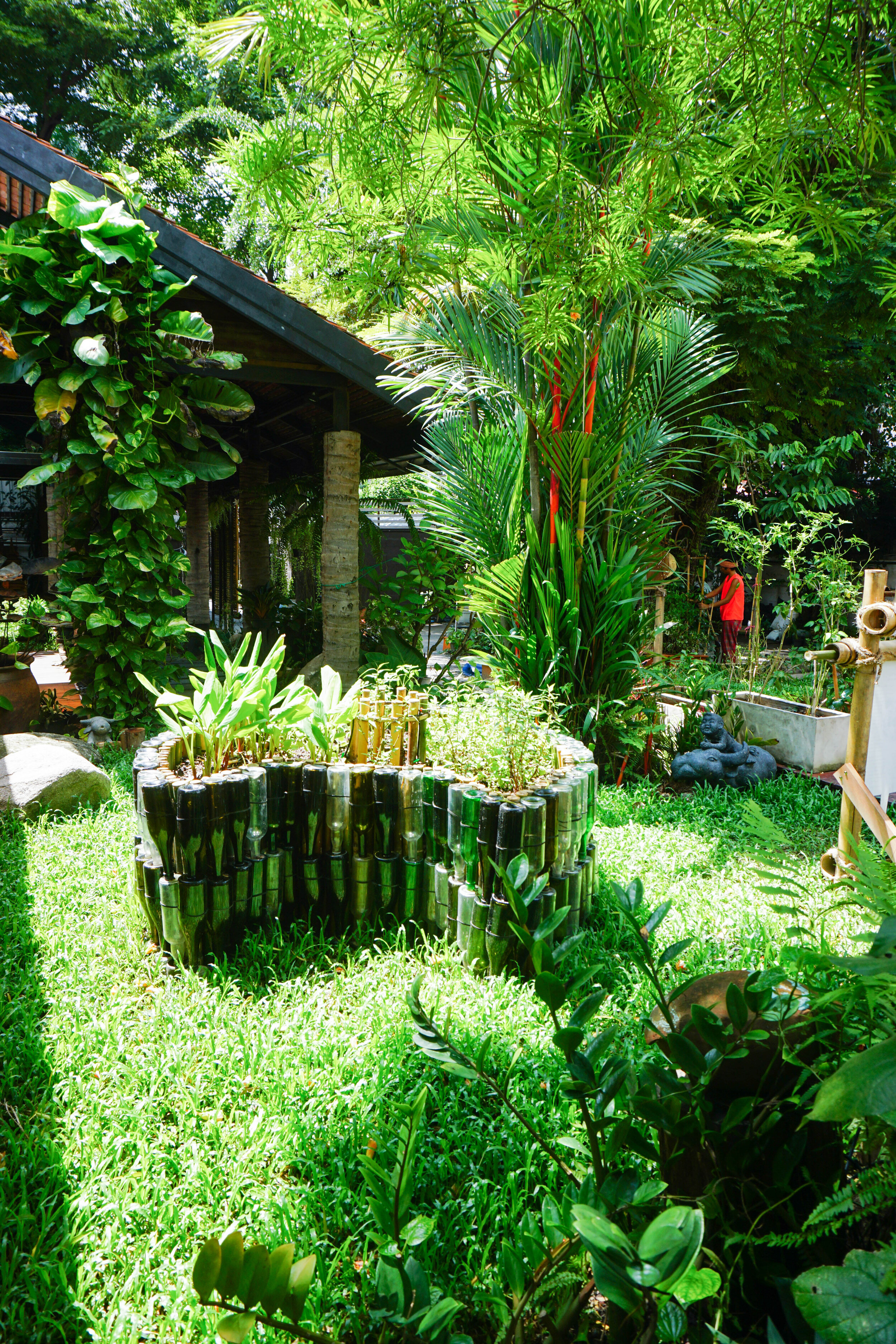 Openspace: Keyhole garden design using permaculture at the Bo.lan - the michelin star restaurant in Bangkok