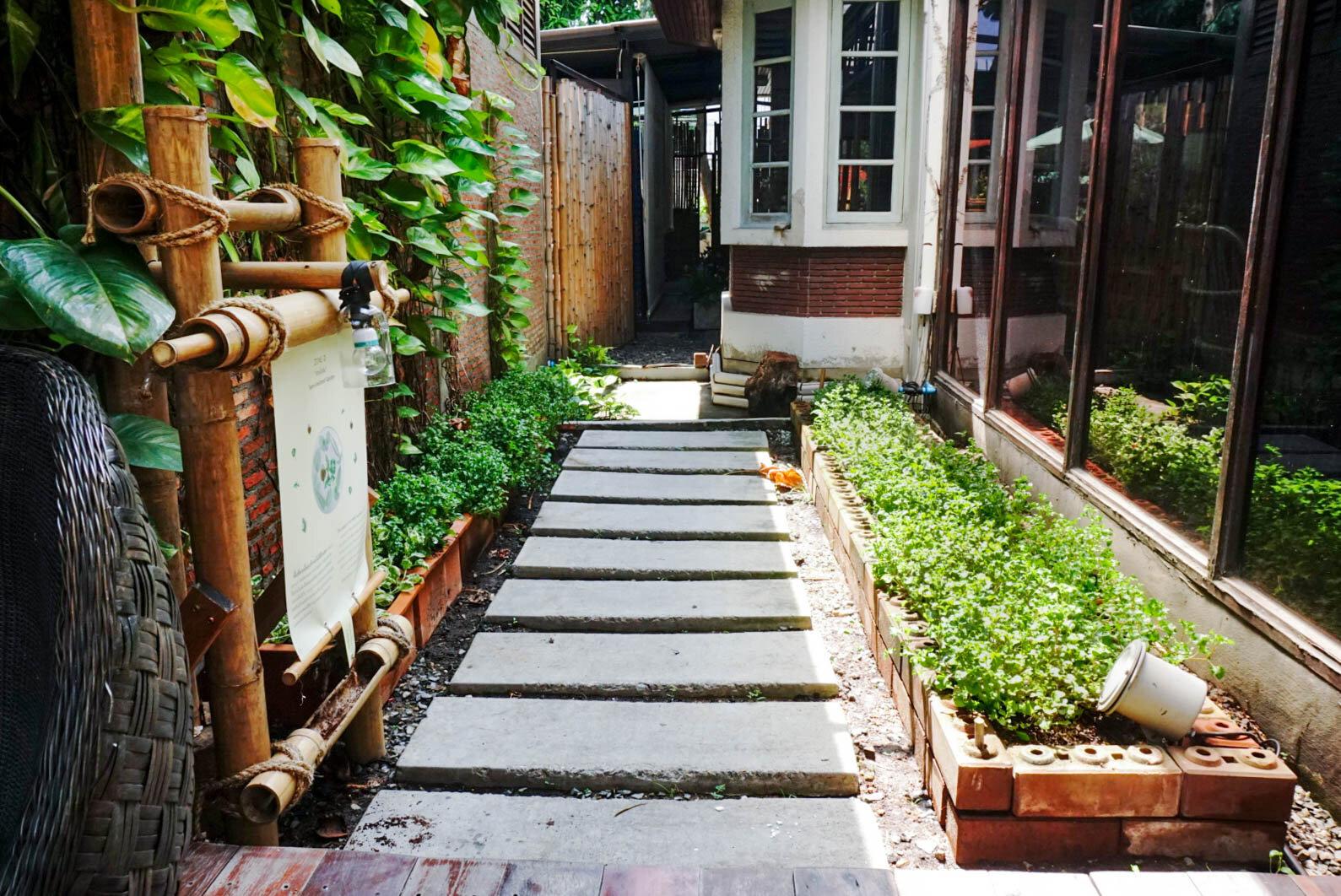 Bo.lan Edible Garden: ZONE D - The Semi-sheltered Garden