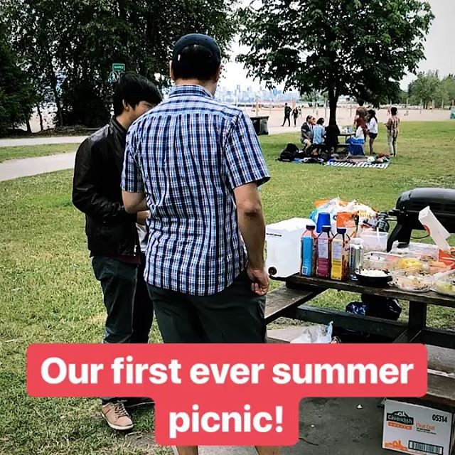 "Thank you all for joining us for our first ever ""summer picnic"" series in Vancouver. Sunshine, food and amazing conversation. What a wonderful afternoon. #lrsglobal"