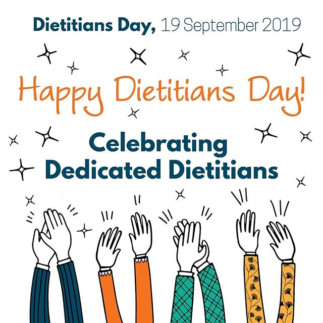 Happy dietitians day! Today, I'm excited to celebrate being an APD and all the amazing APDs I have the pleasure to know and work with!  #dedicateddietitians  #dietitian #dietitiansday  #dietitansday2019  #dietitiansofinstagram