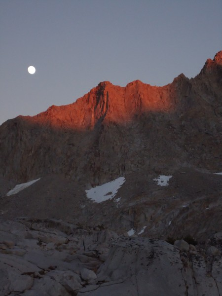 Moon rising after my descent from Mt. Fisk