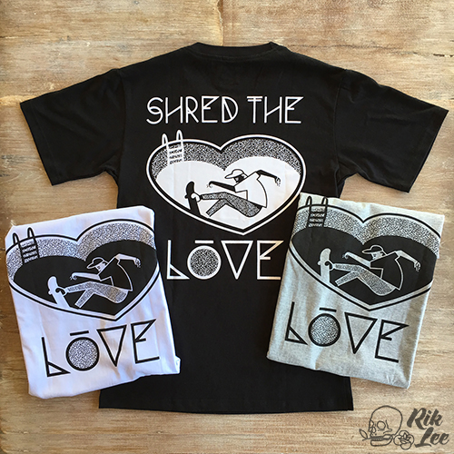 Shred The Love - T-shirt