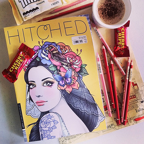 Hitched Magazine Cover
