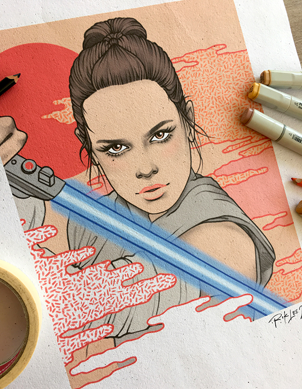 Rey - The Last Jedi, Star Wars X Radio Velvet