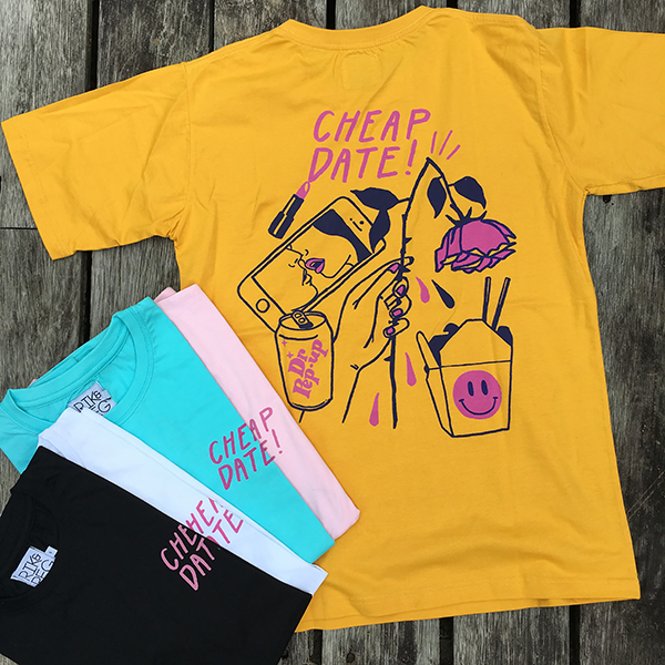 Cheap Date Tee - Back