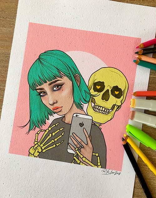 Selfie Skull