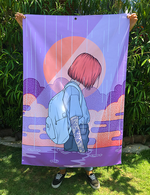 Closer - Fabric Banner