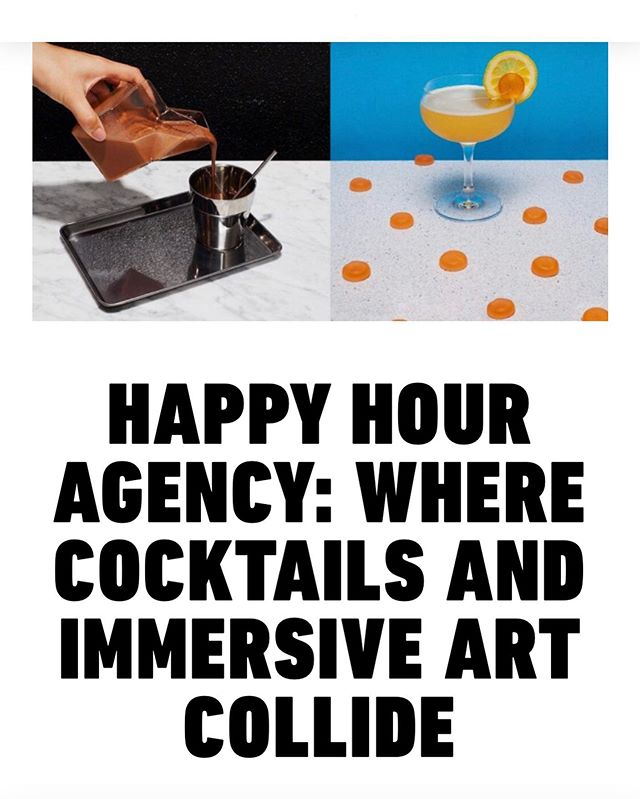 We had the great pleasure of sitting down with the folks at Full Service Radio to talk cocktails, art, and the world of immersive experiences. Take a listen at the link in our bio 📻