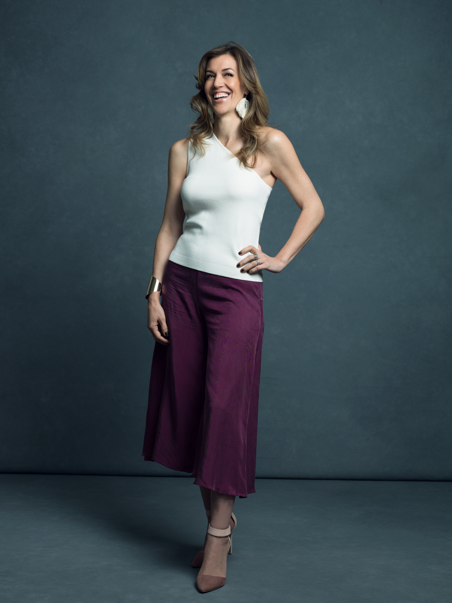 The Brand Architect - Paulina Prado in the Charlie Pants.