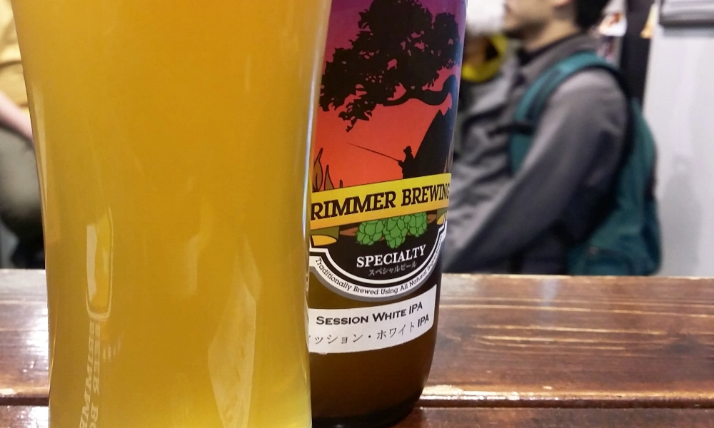 A delicious craft beer from Brimmer Brewing in Kanagawa prefecture.